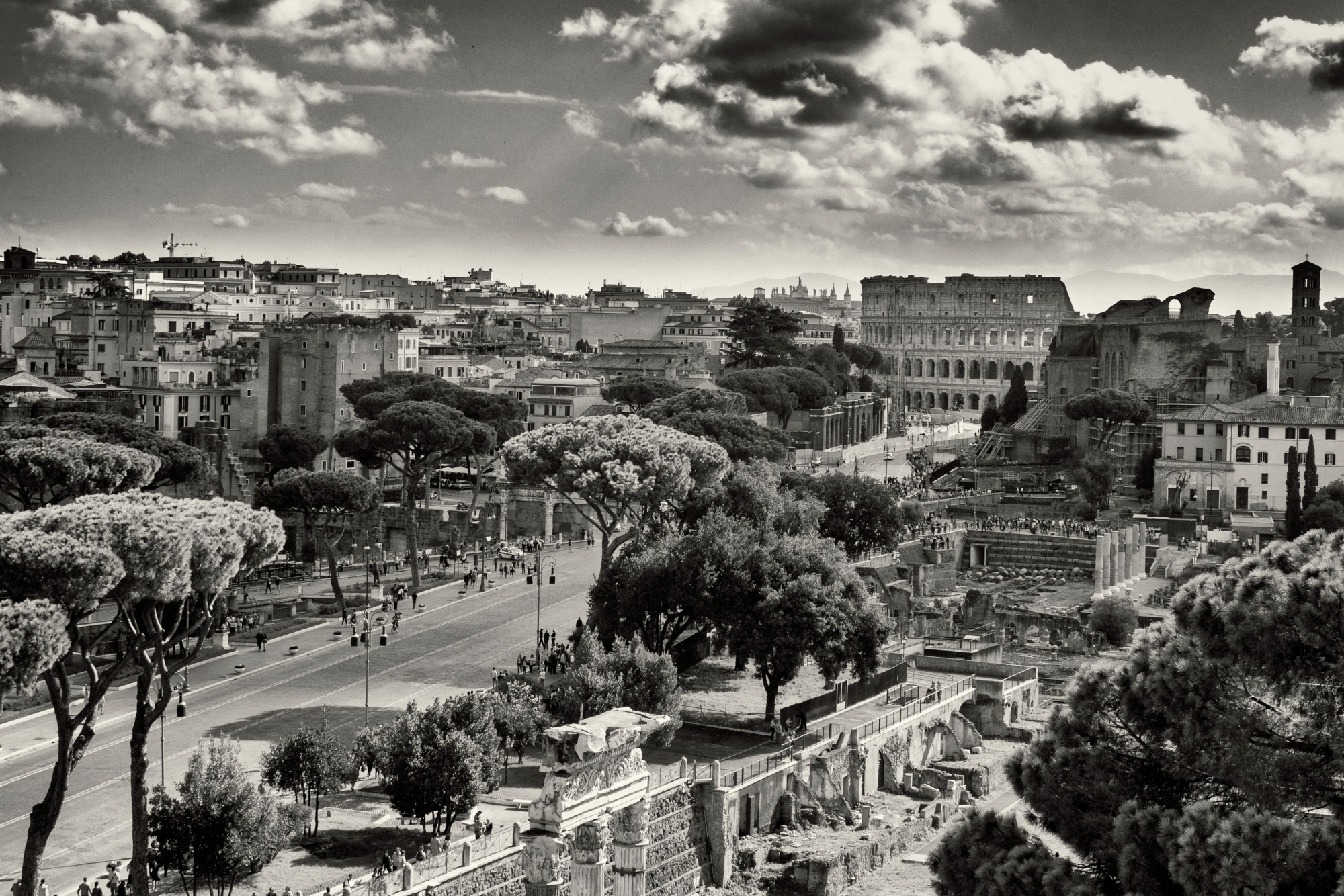 Rome, the eternal city...