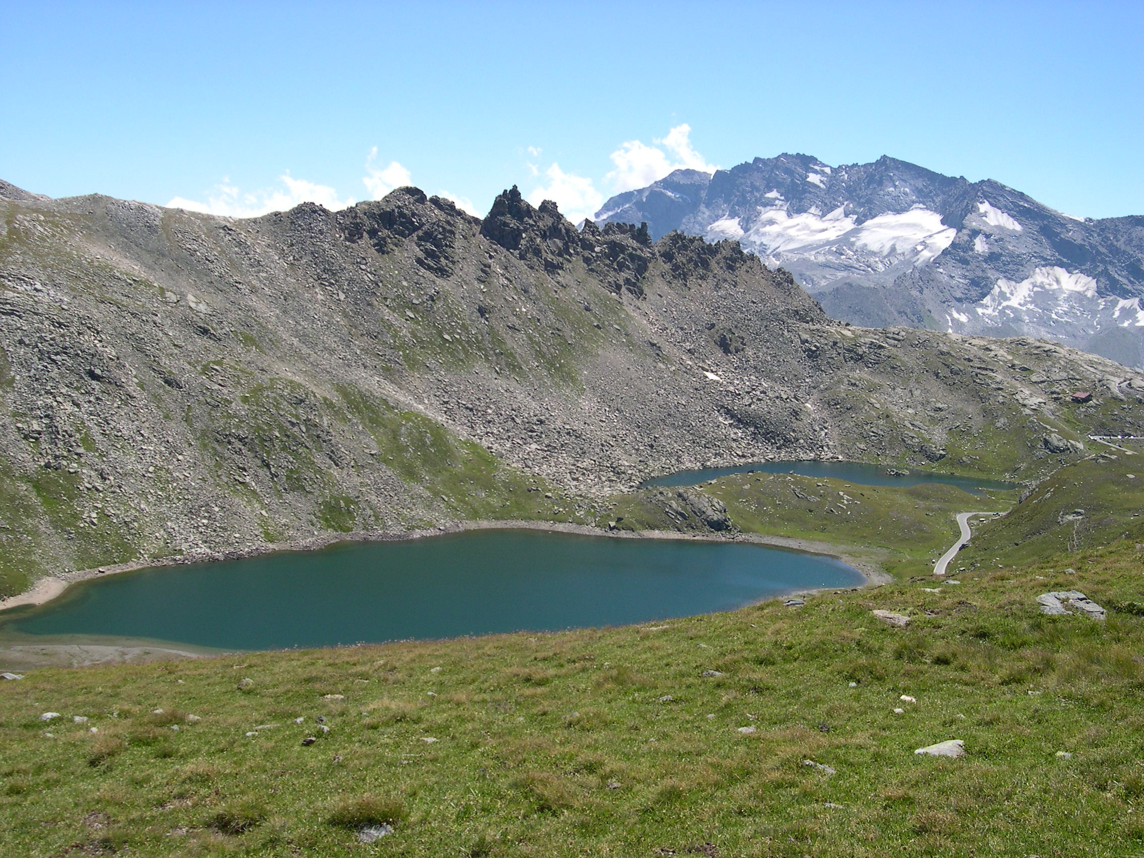 Lakes of Nivolet and Levanne...