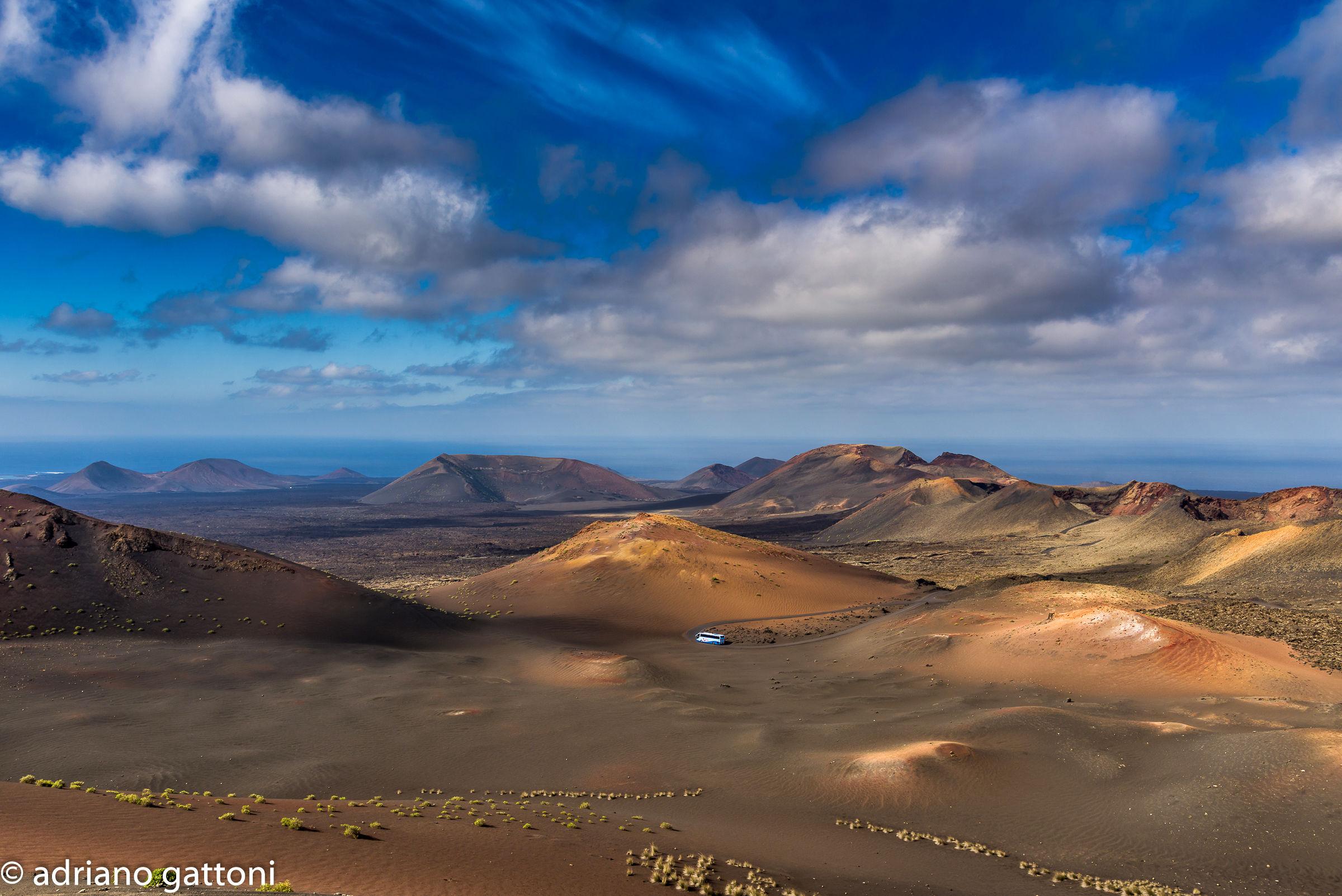 Lanzarote Canary Islands Timanfaya National Park...