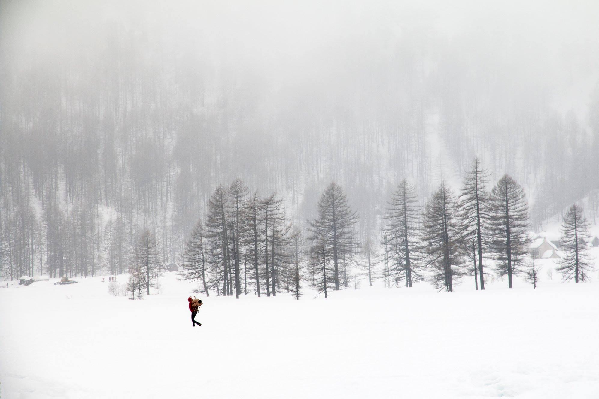 L'inverno al Devero...