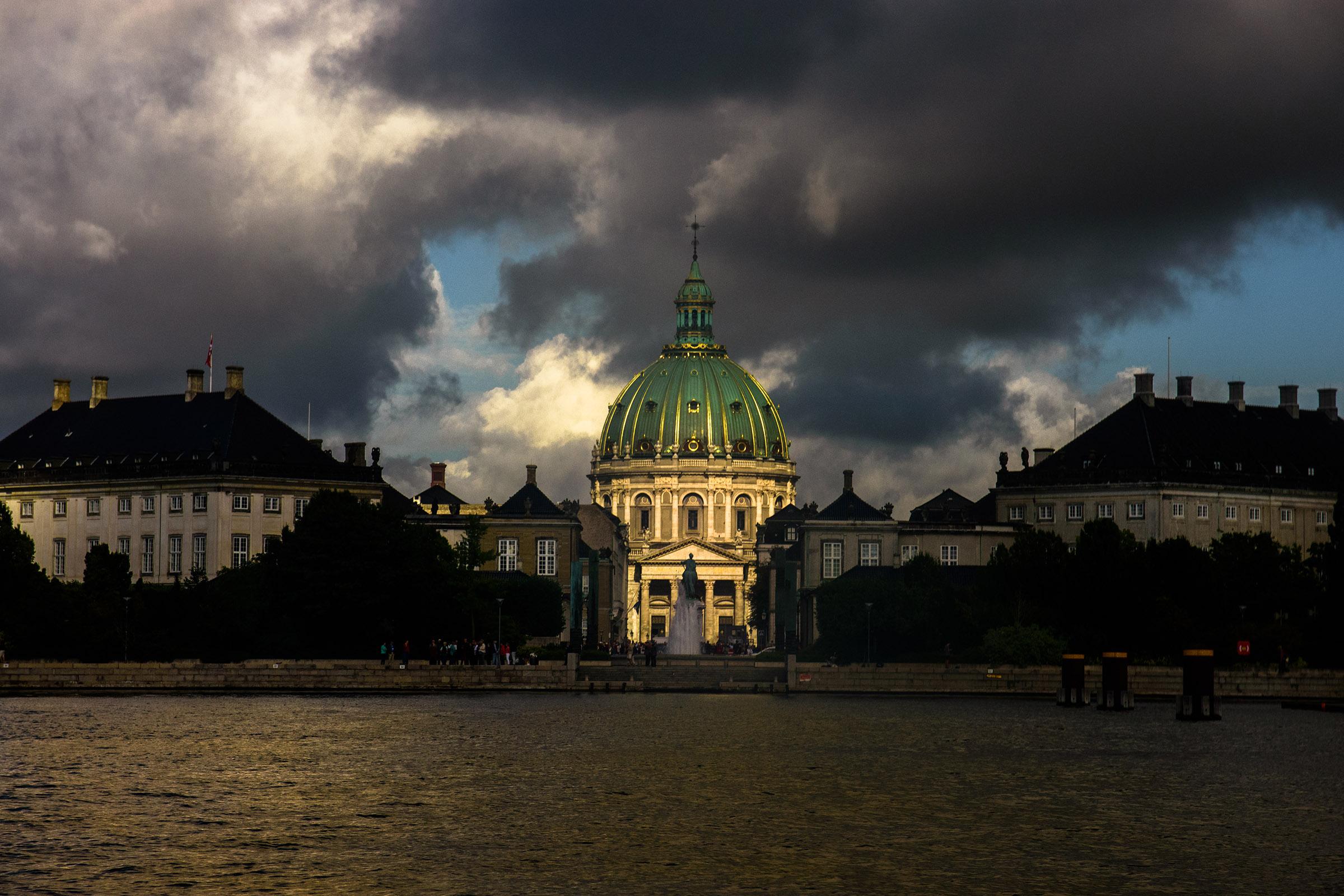 Chiesa marmorea a Copenaghen...