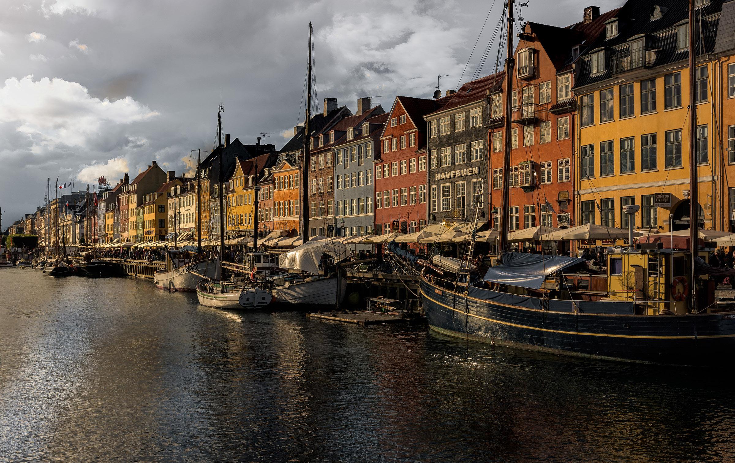 Iconico canale di Nyhavn...