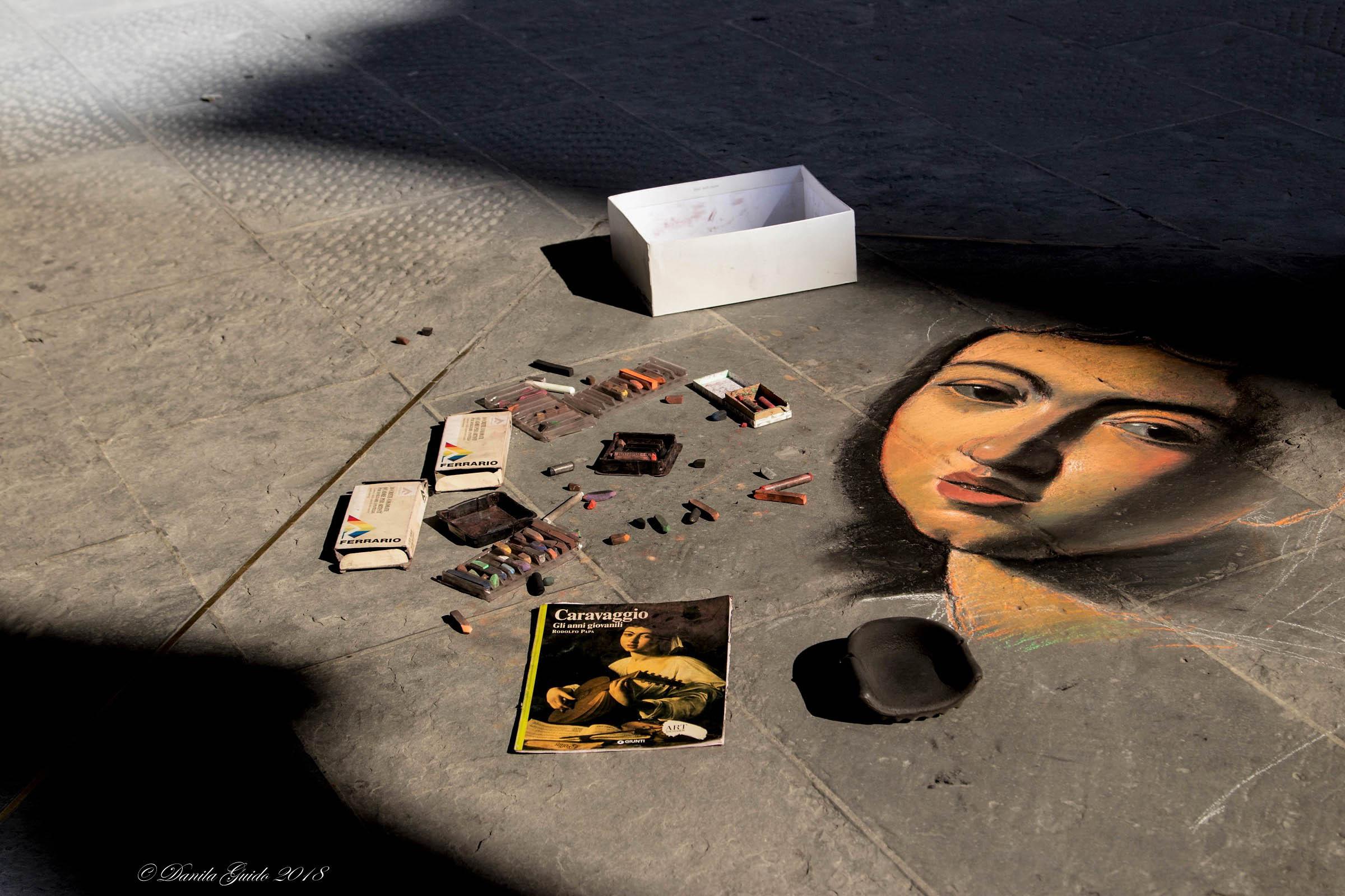 the light of Caravaggio...