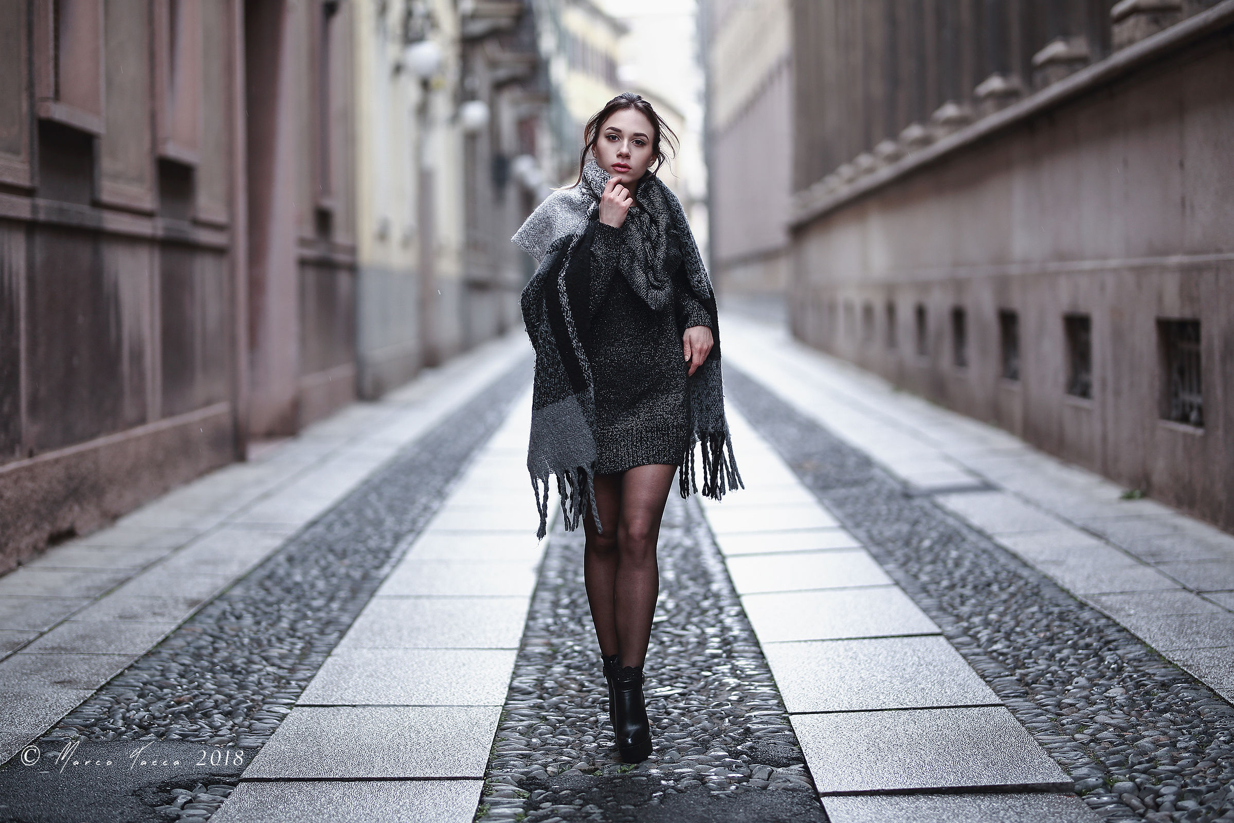 Walking in the city...