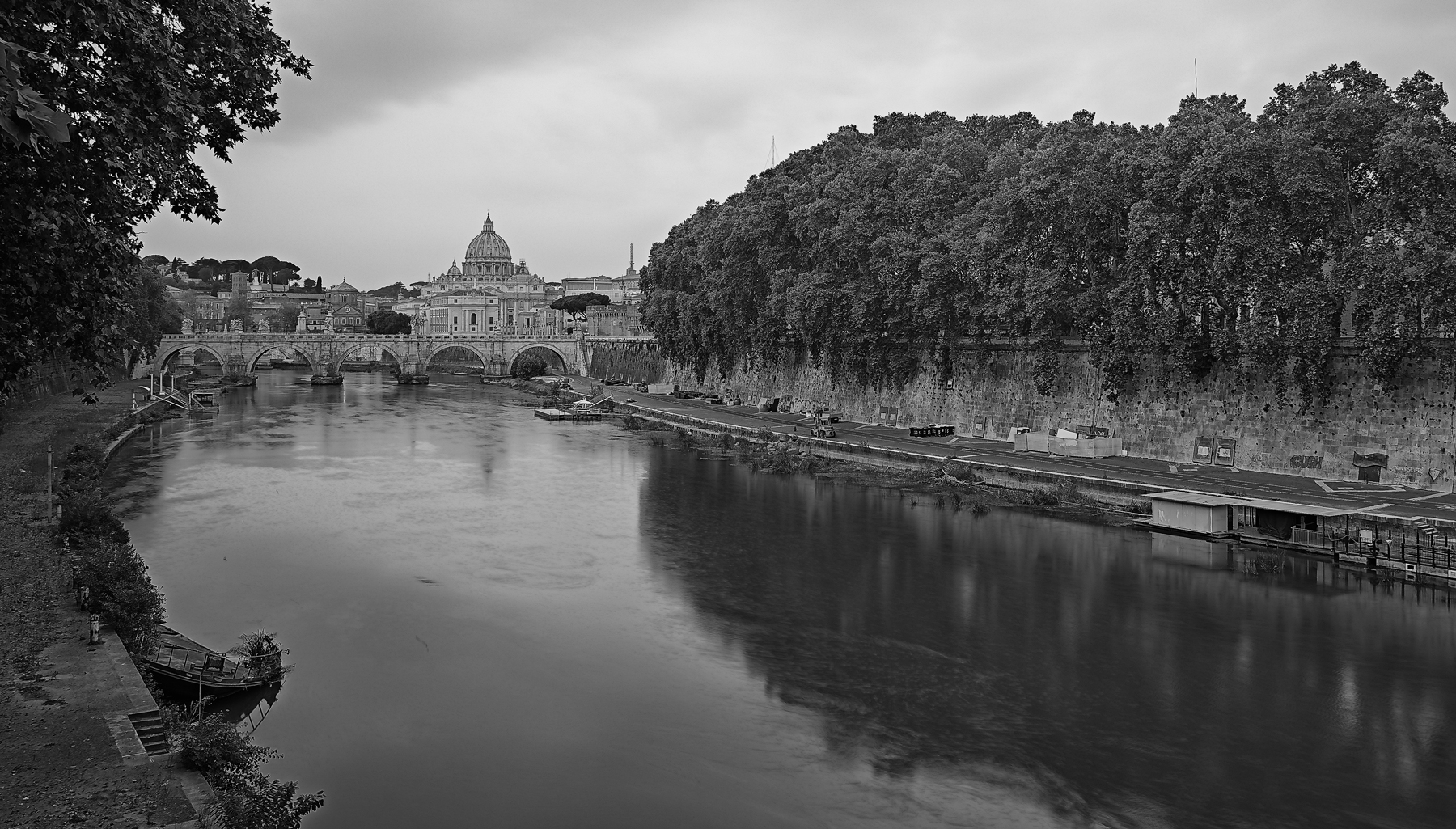 The Cupolone seen from the Lungotevere dei Mellini...