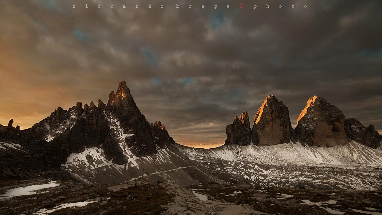 Monte Paterno and Tre Cime...