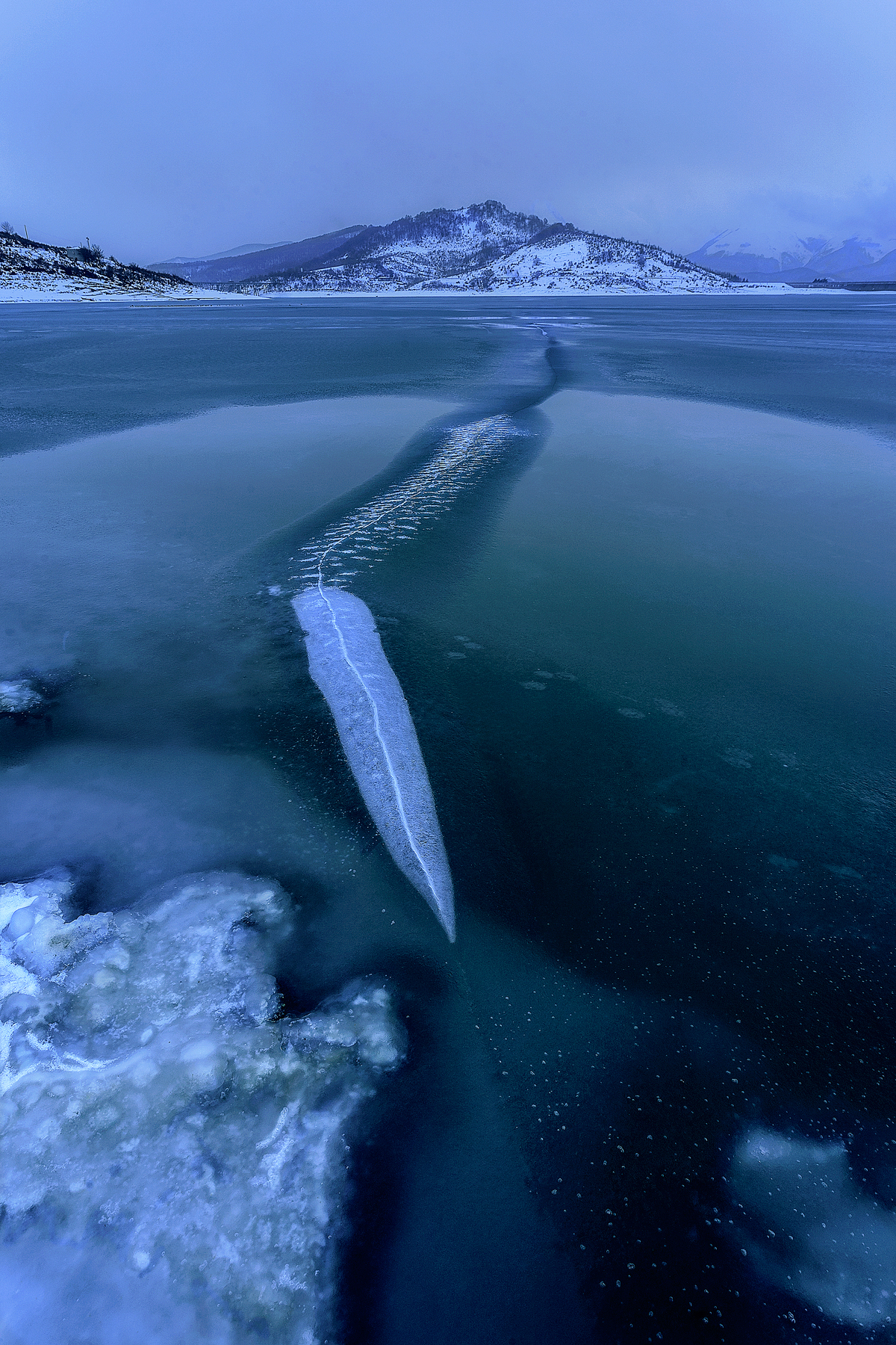 La spada nel ghiaccio...