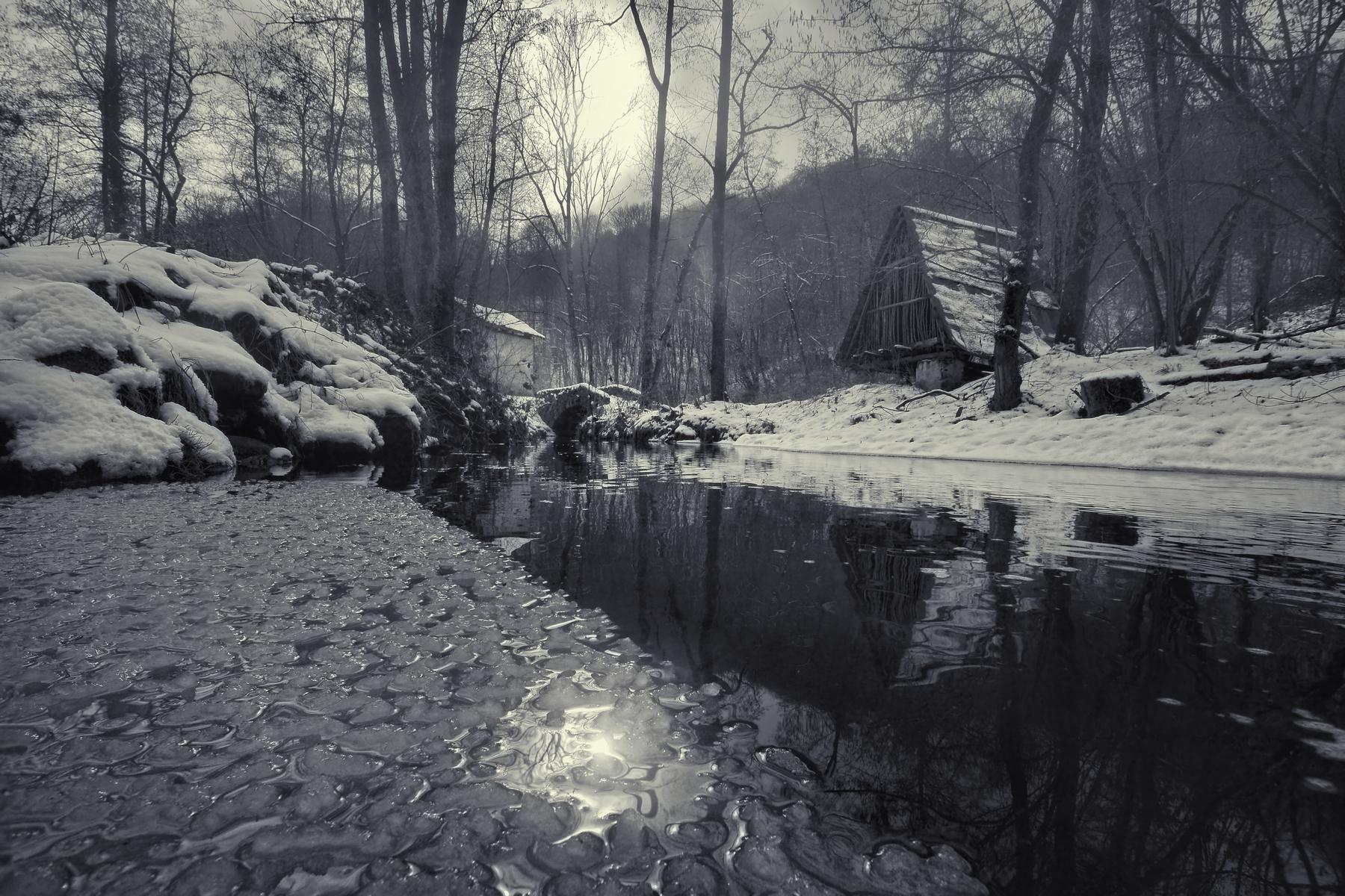 Winter at the Mulinaccio...