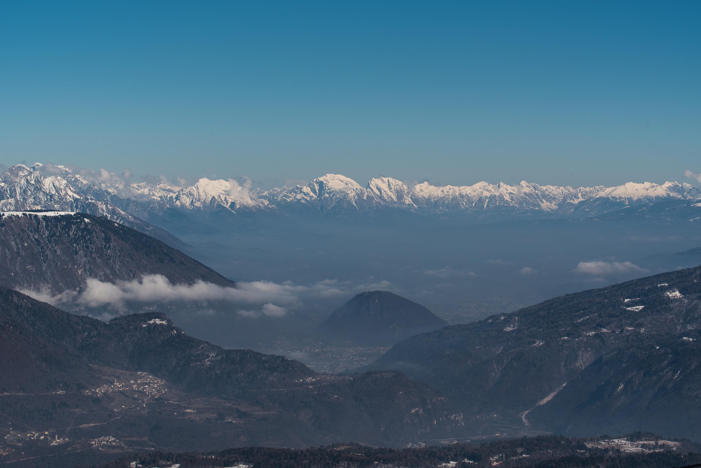 Conca feltrina (bl) and the Belluno Dolomites...