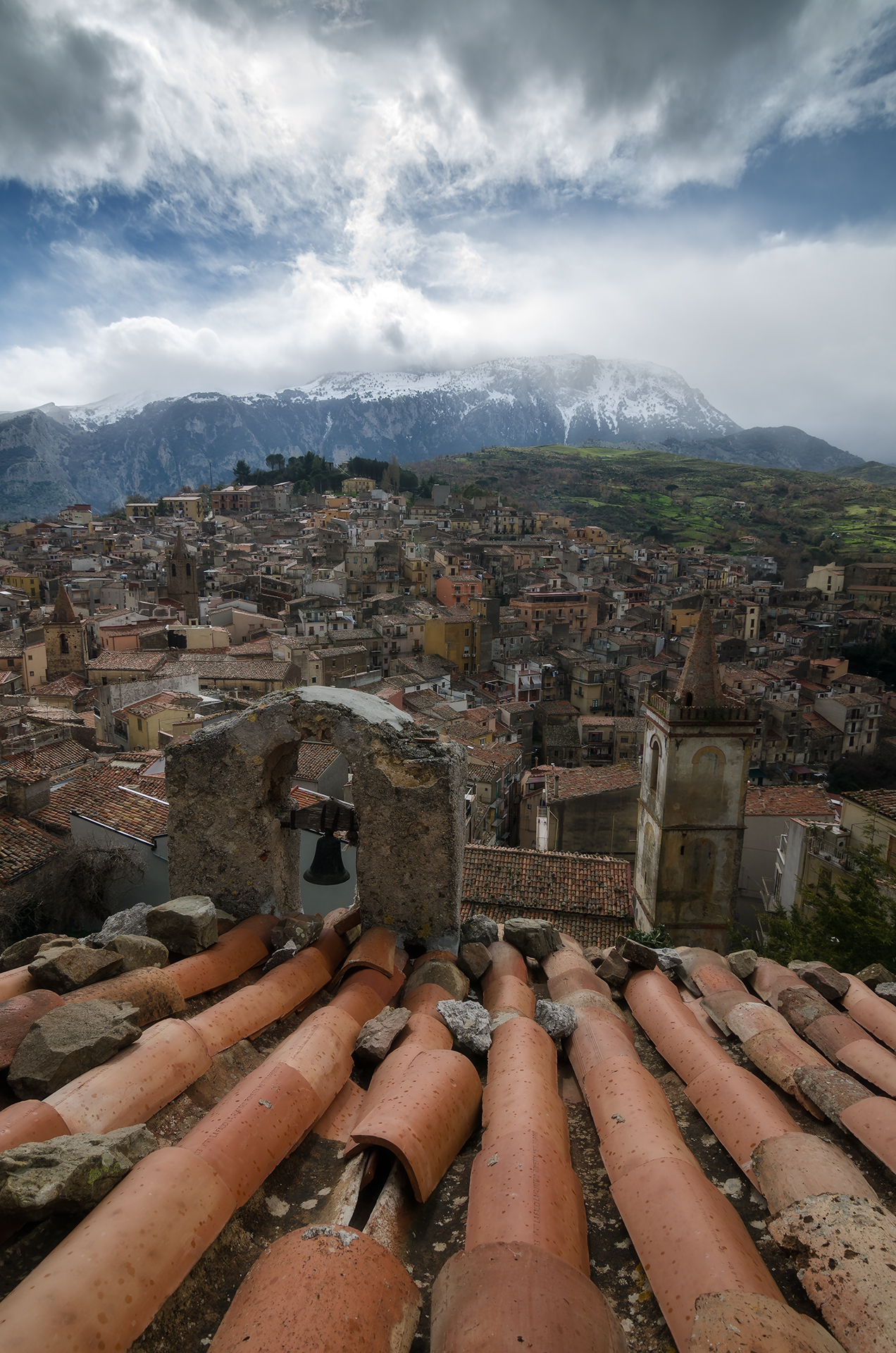 Roofs of Isnello...