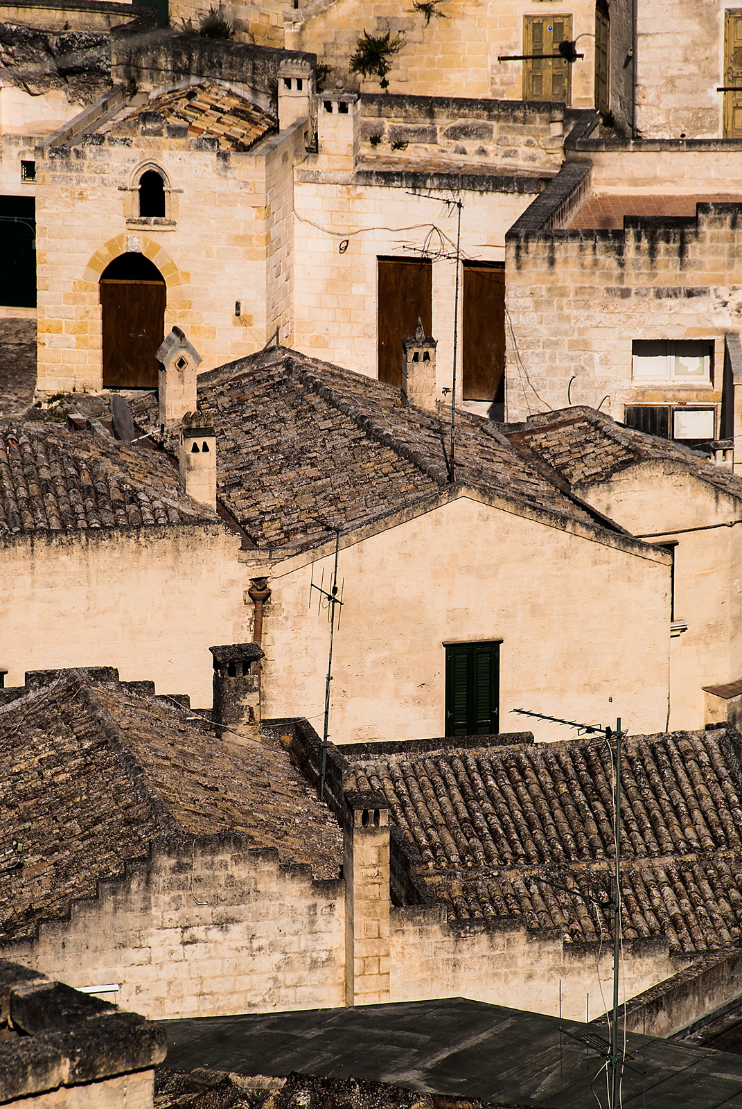 Roofs in Matera...