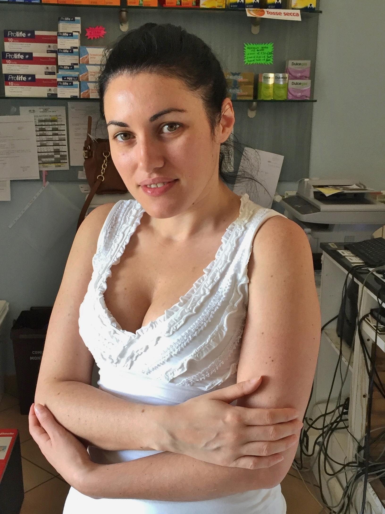 Pharmacist in pre smile....
