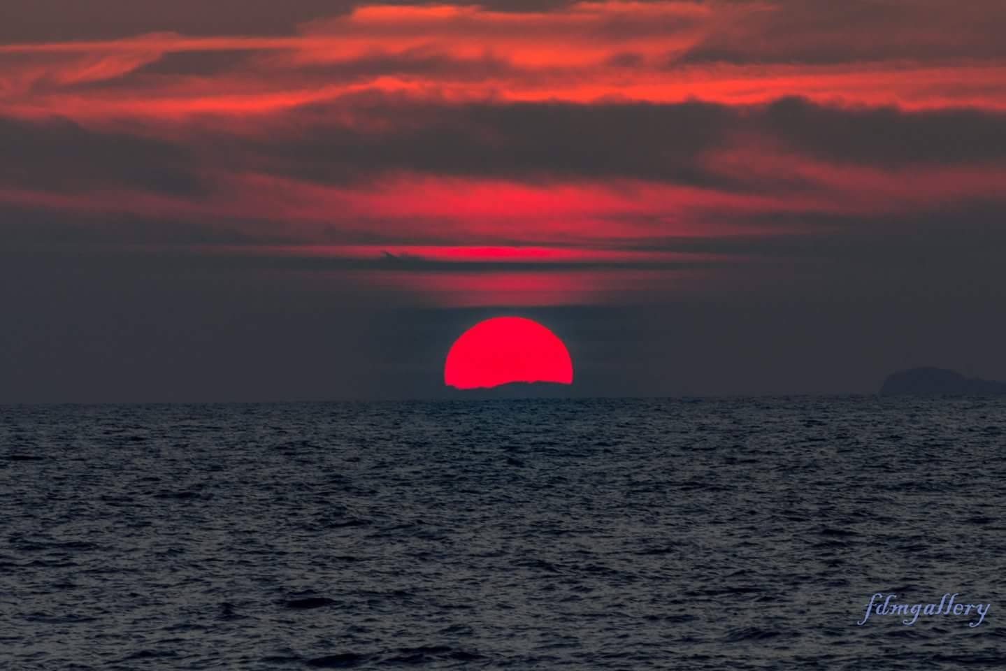 Sunset show...