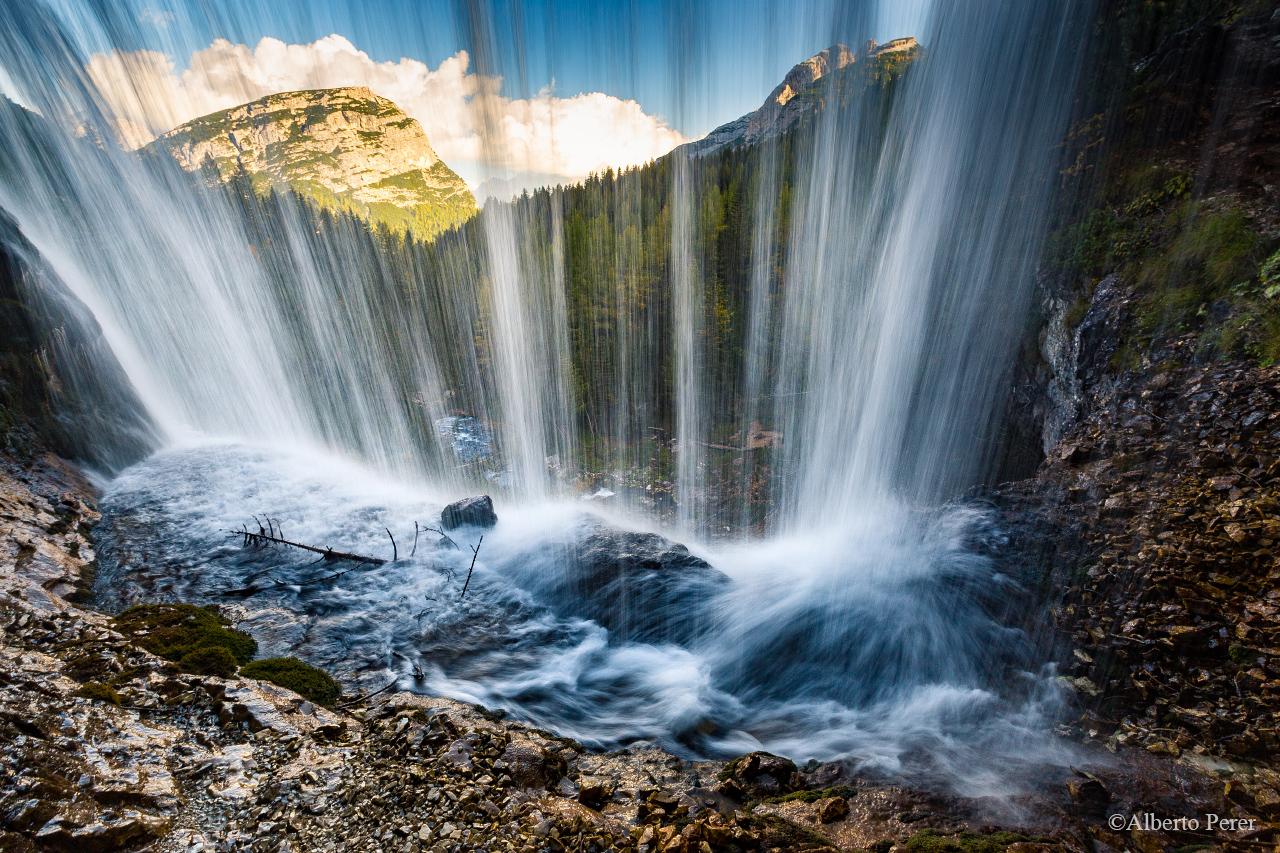 Fanes Falls...