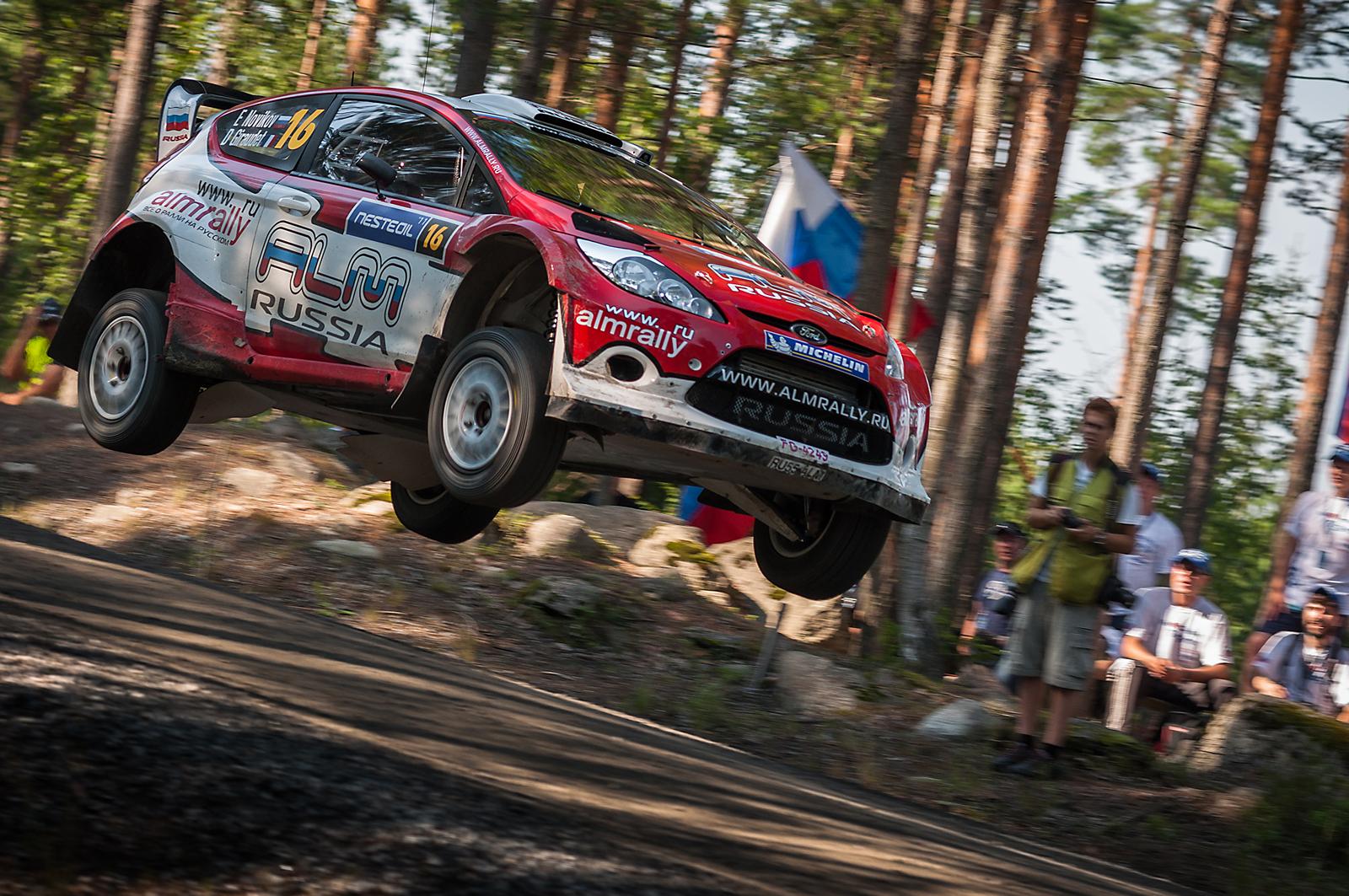 Neste Oil Rally Finland 2011 - Novikov / Giraudet...