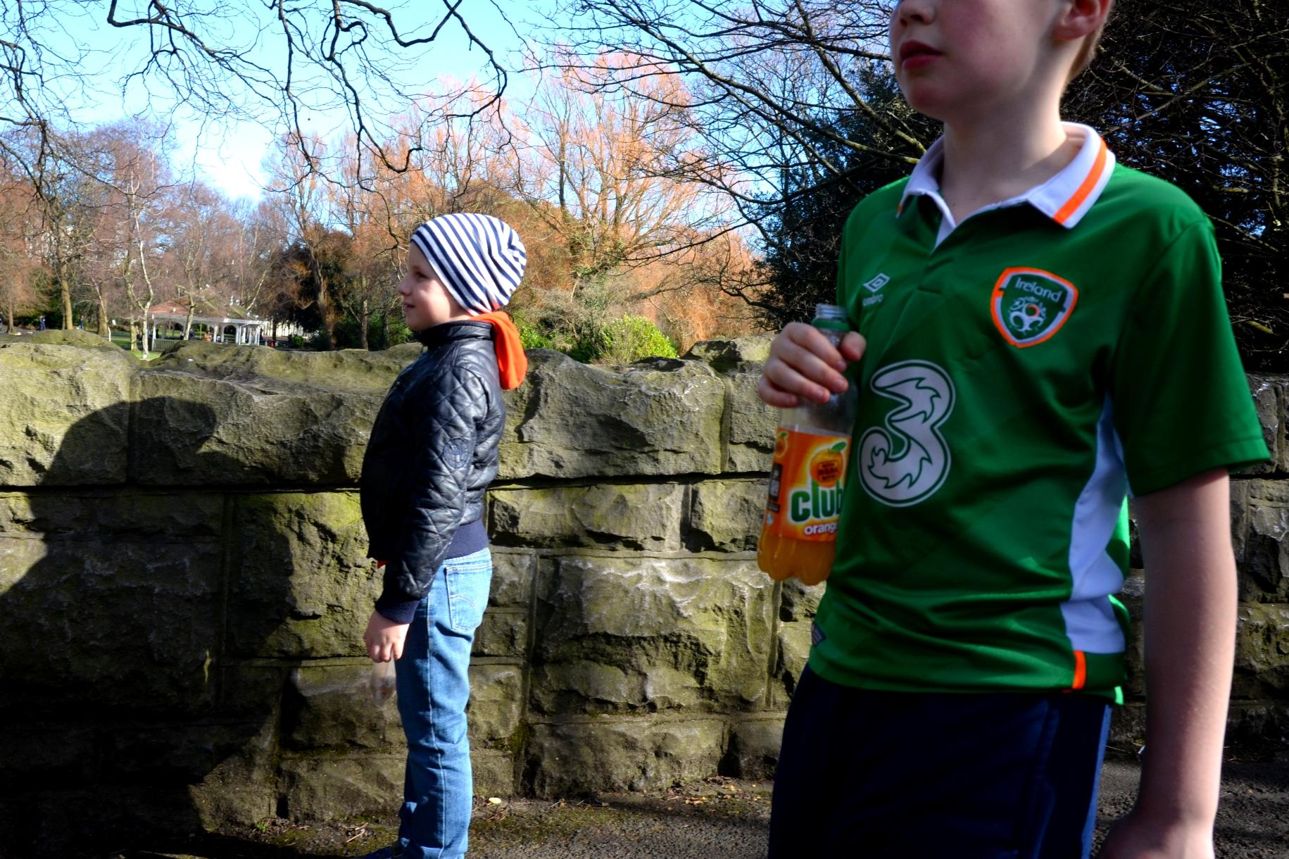 Irish youth...