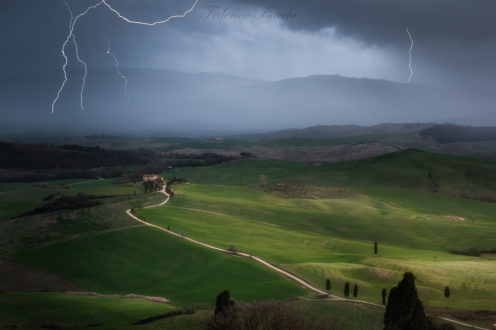 Temporal in Val d'Orcia...