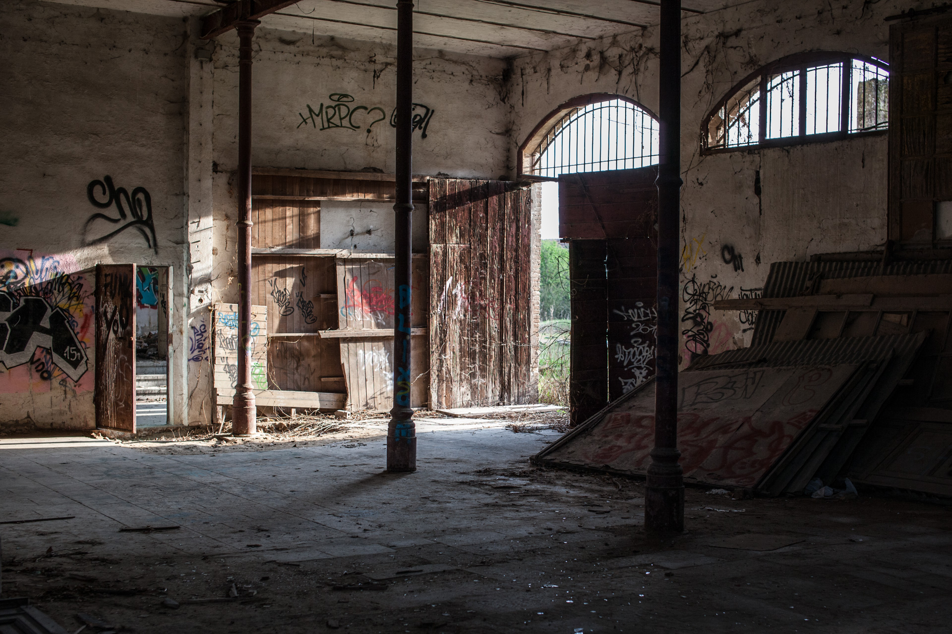 Abandoned mill 2...