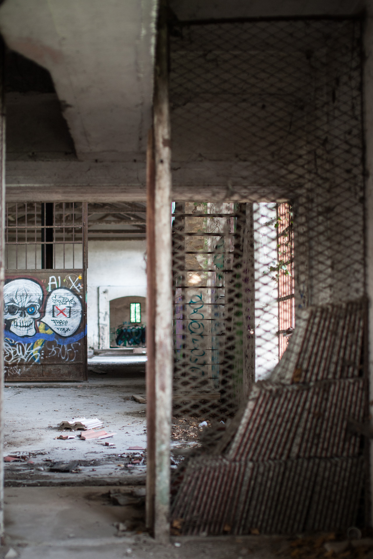 The abandoned paper mill 7...