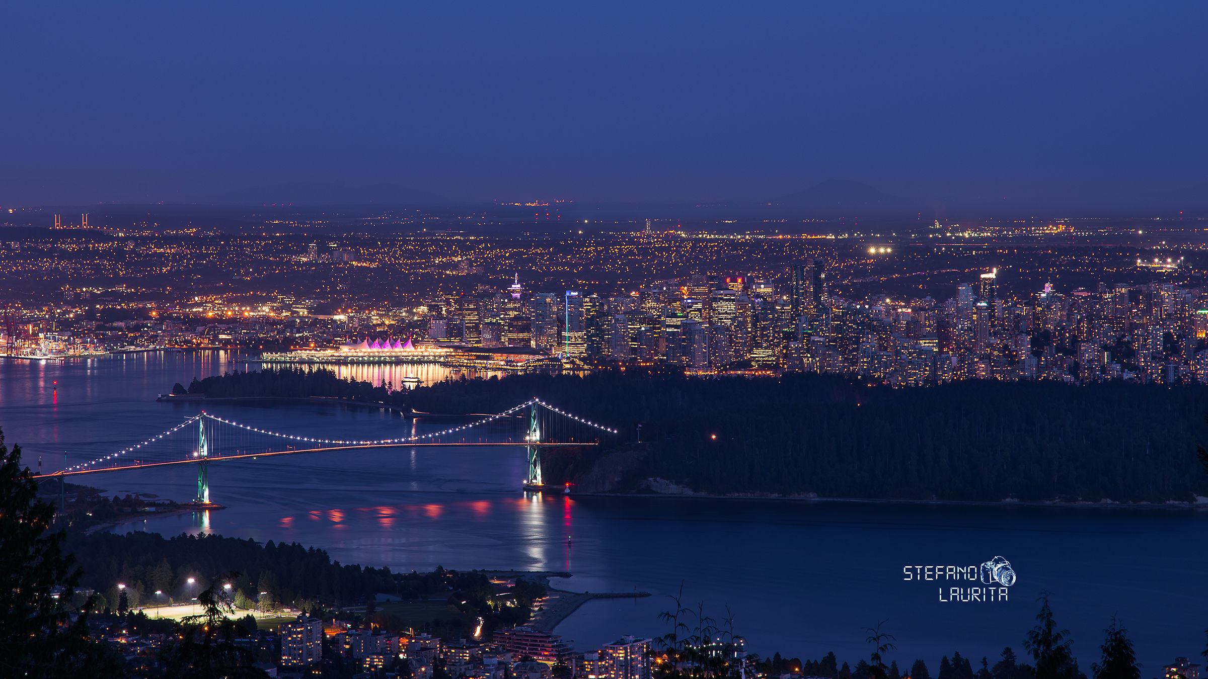 Vancouver e Lions Gate Bridge...