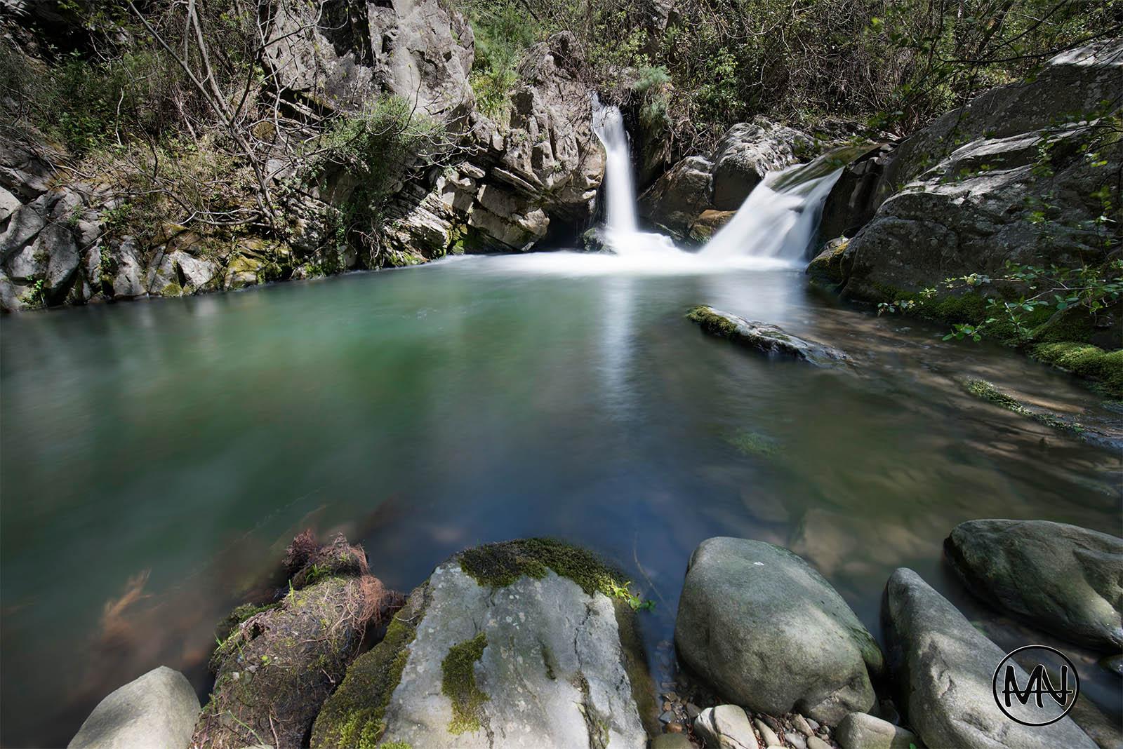 A little waterfall...