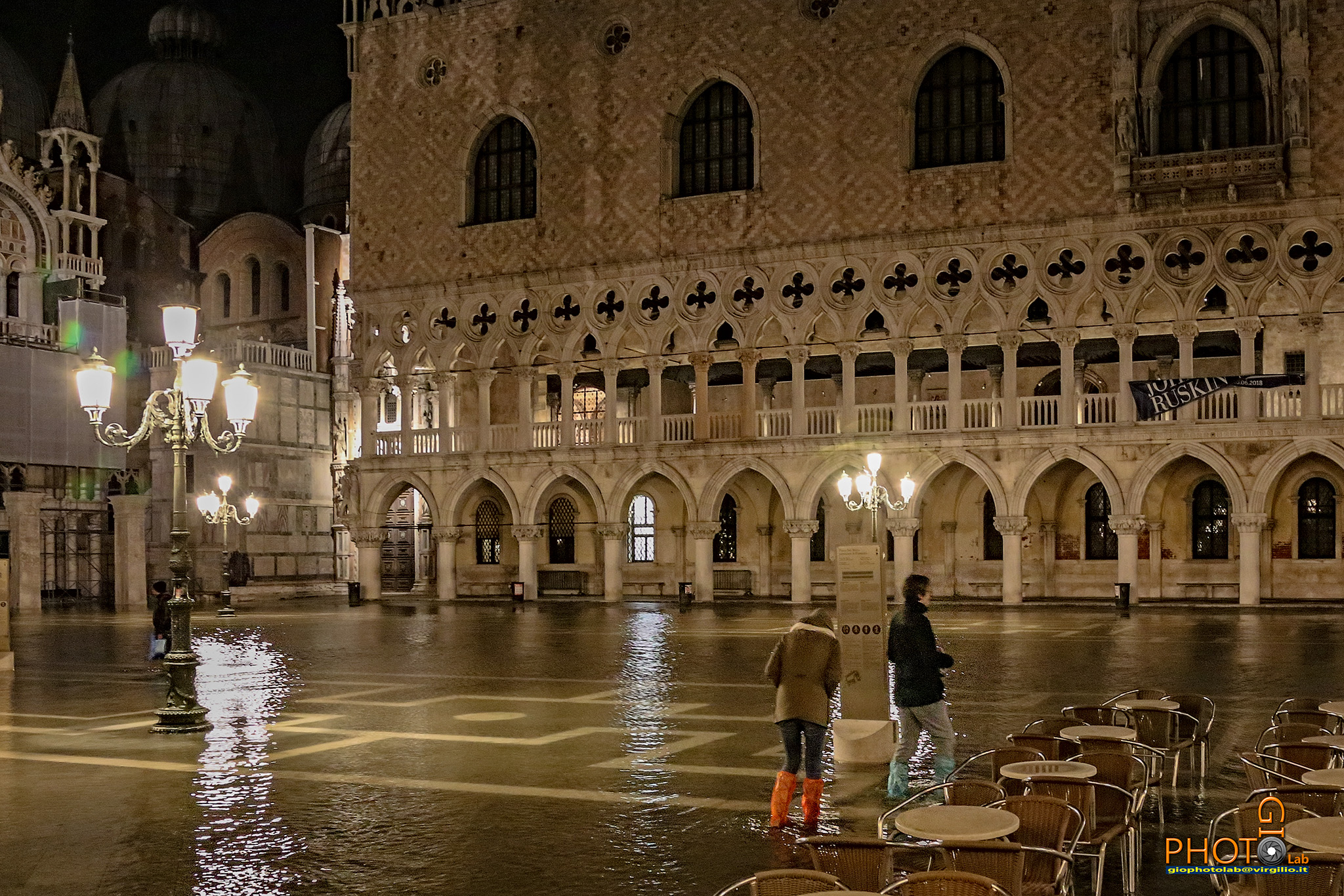 High water in Venice...