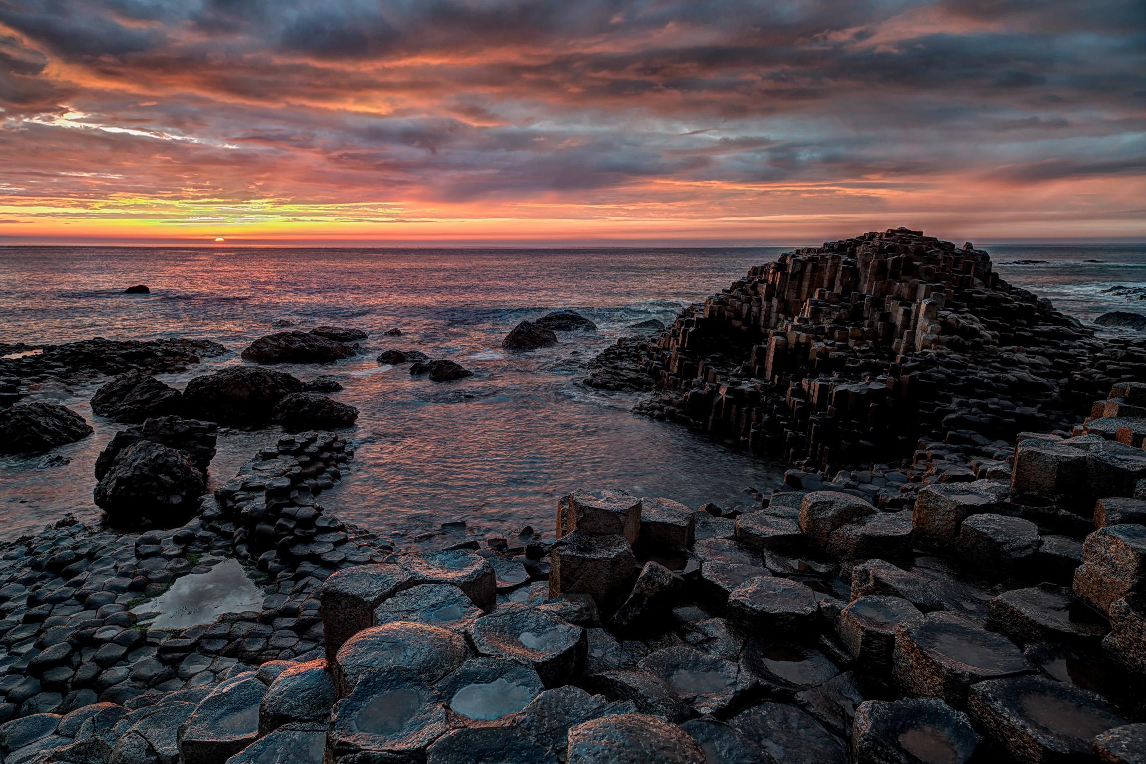 Giant's Causeway...