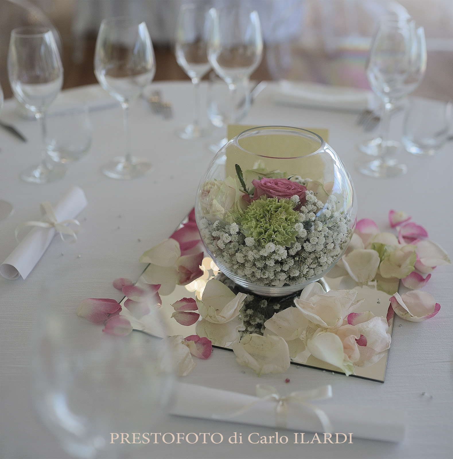 wedding centro tavola...