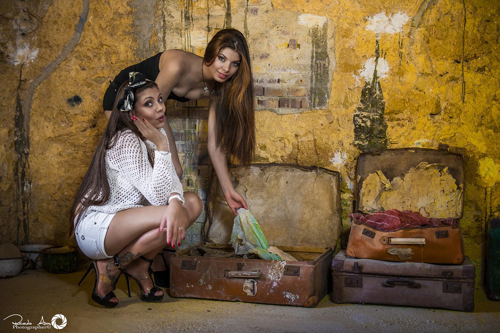 Angela and Fiorella...