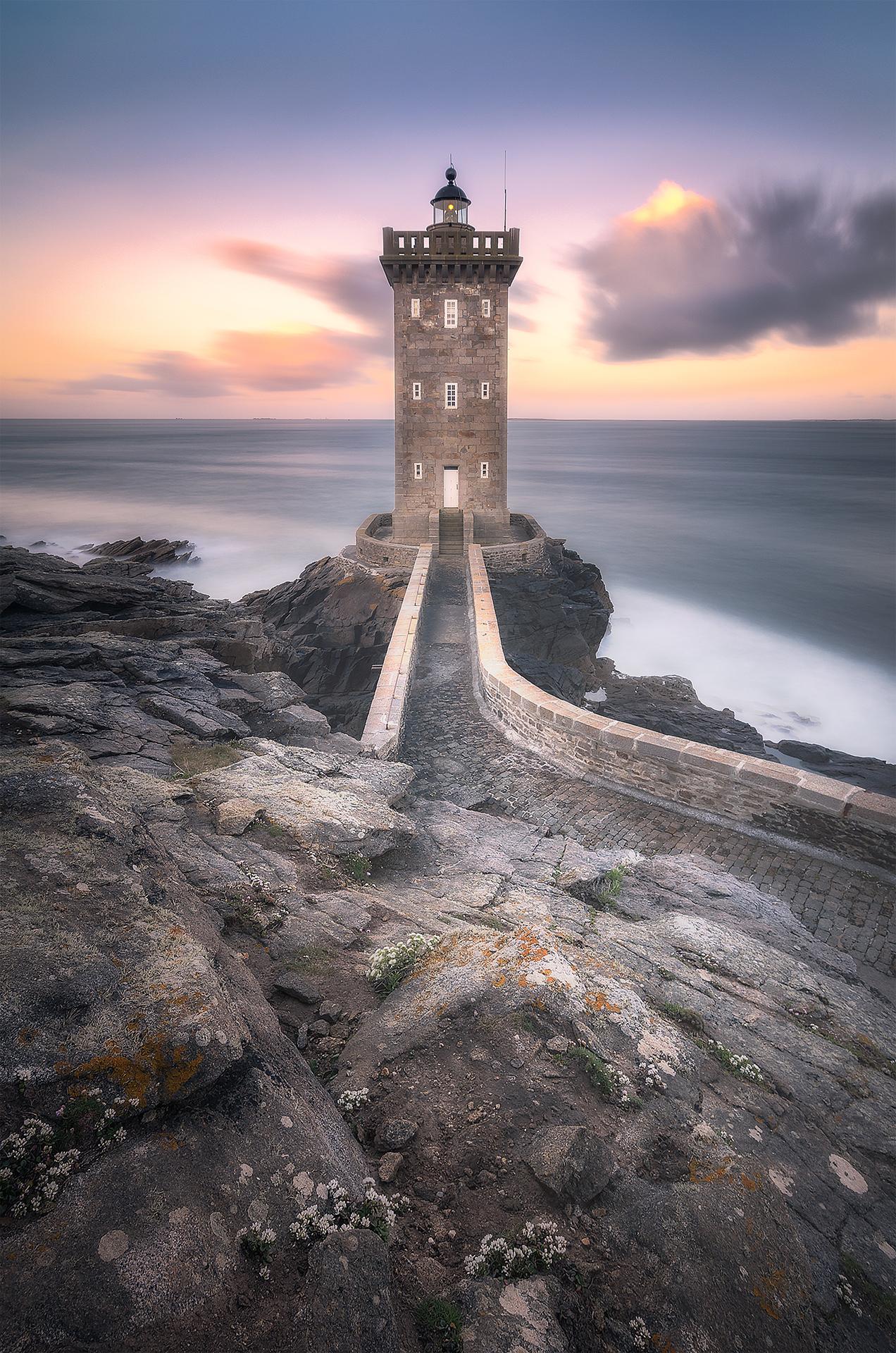 Kermorvan lighthouse...