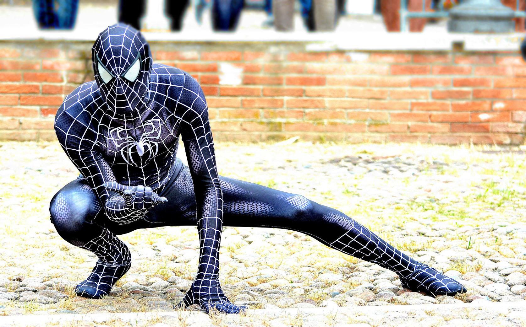 Sermide Comics & Games 2018: Black Spider Man...