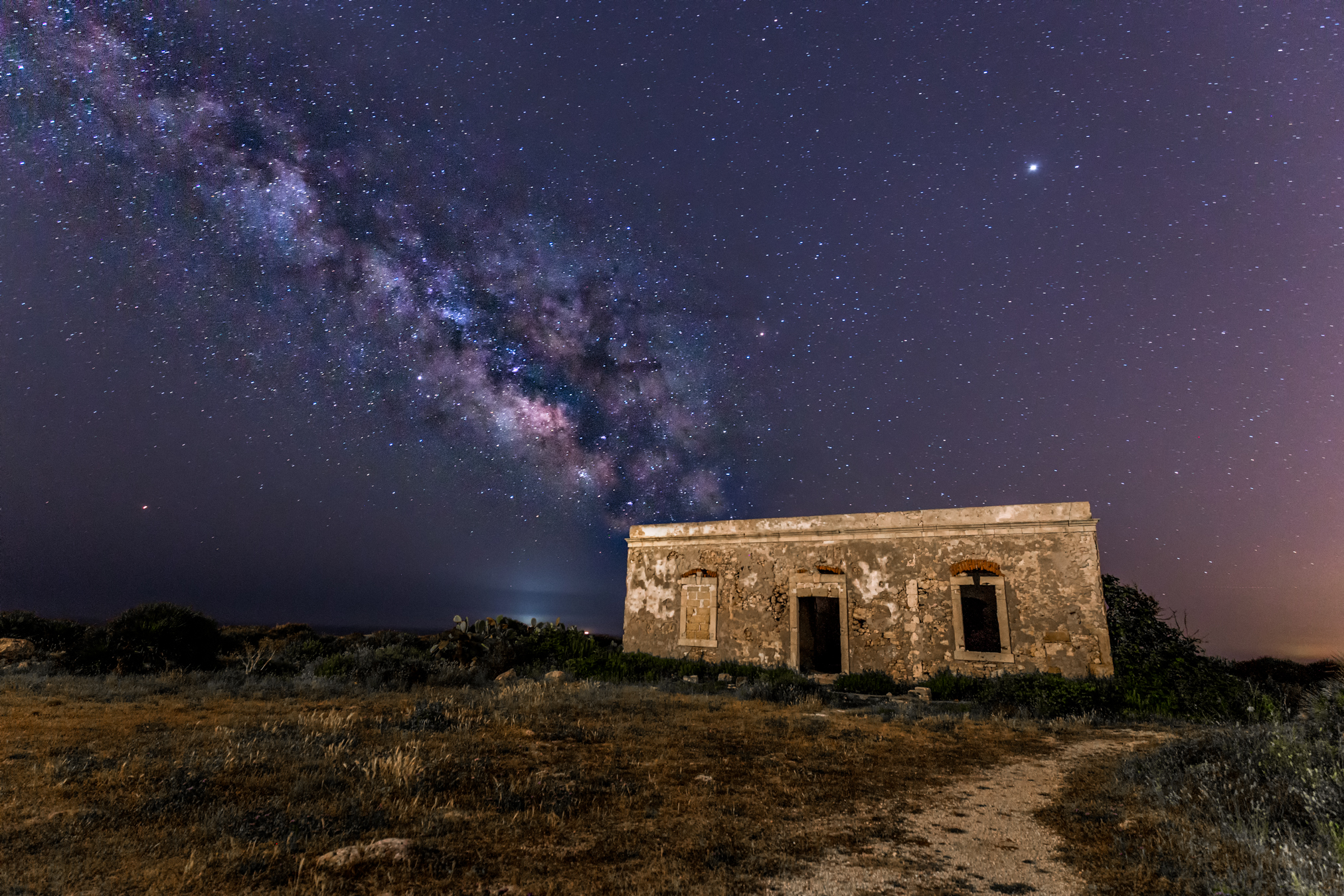 First Milky Way...