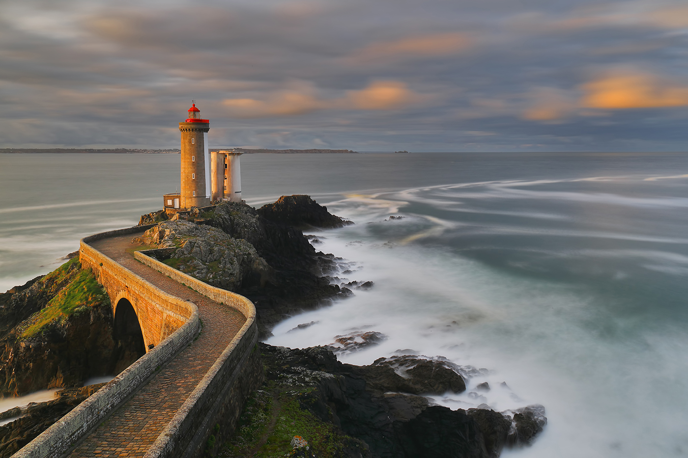 The lighthouse of Petit Minou-Brittany...