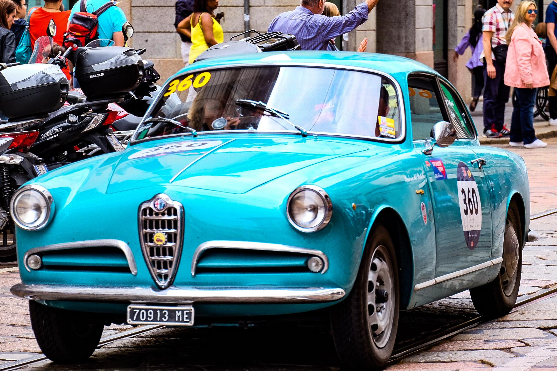 Alfa Romeo at 1000 miles...