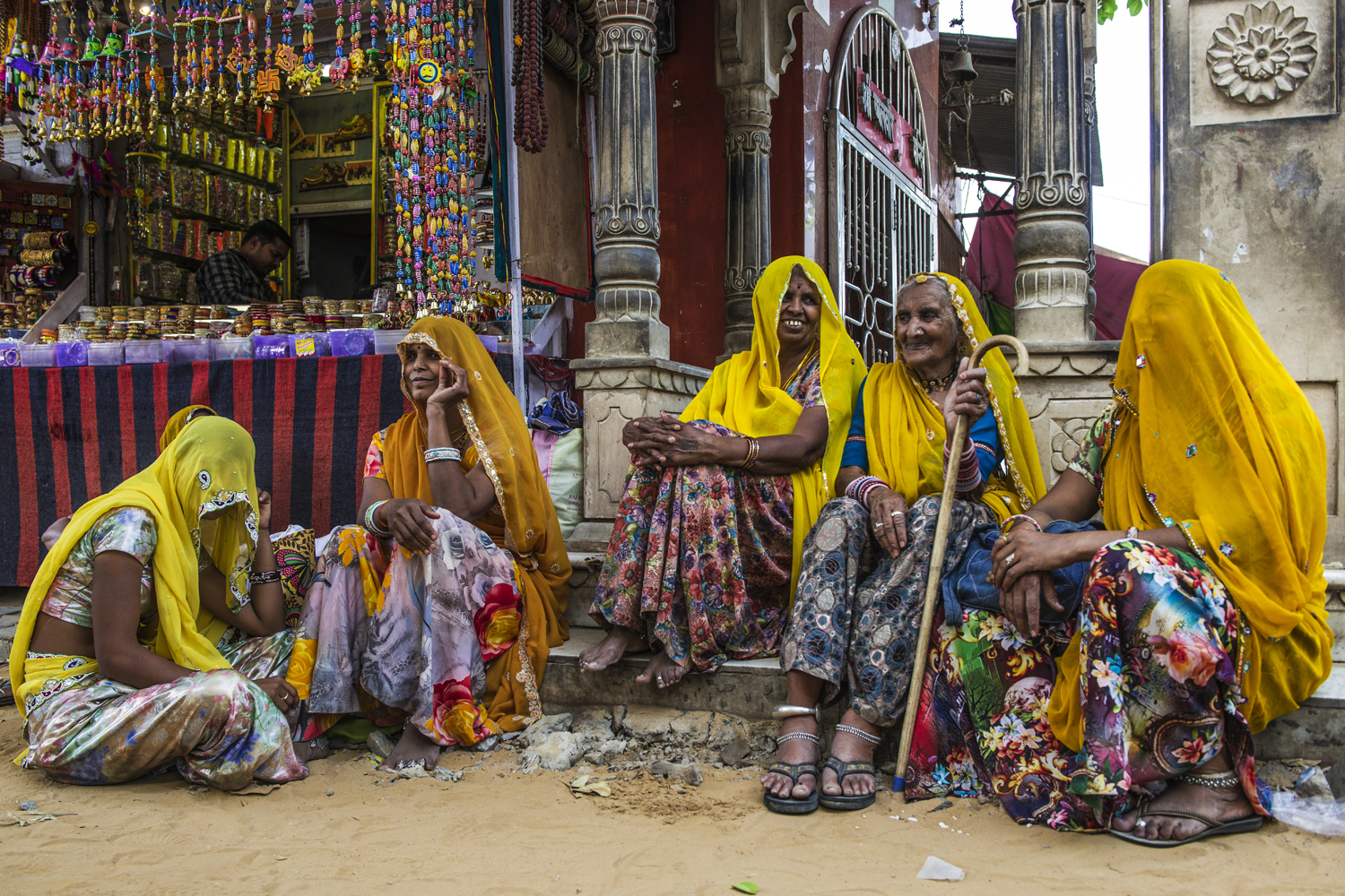 Women in Pushkar...