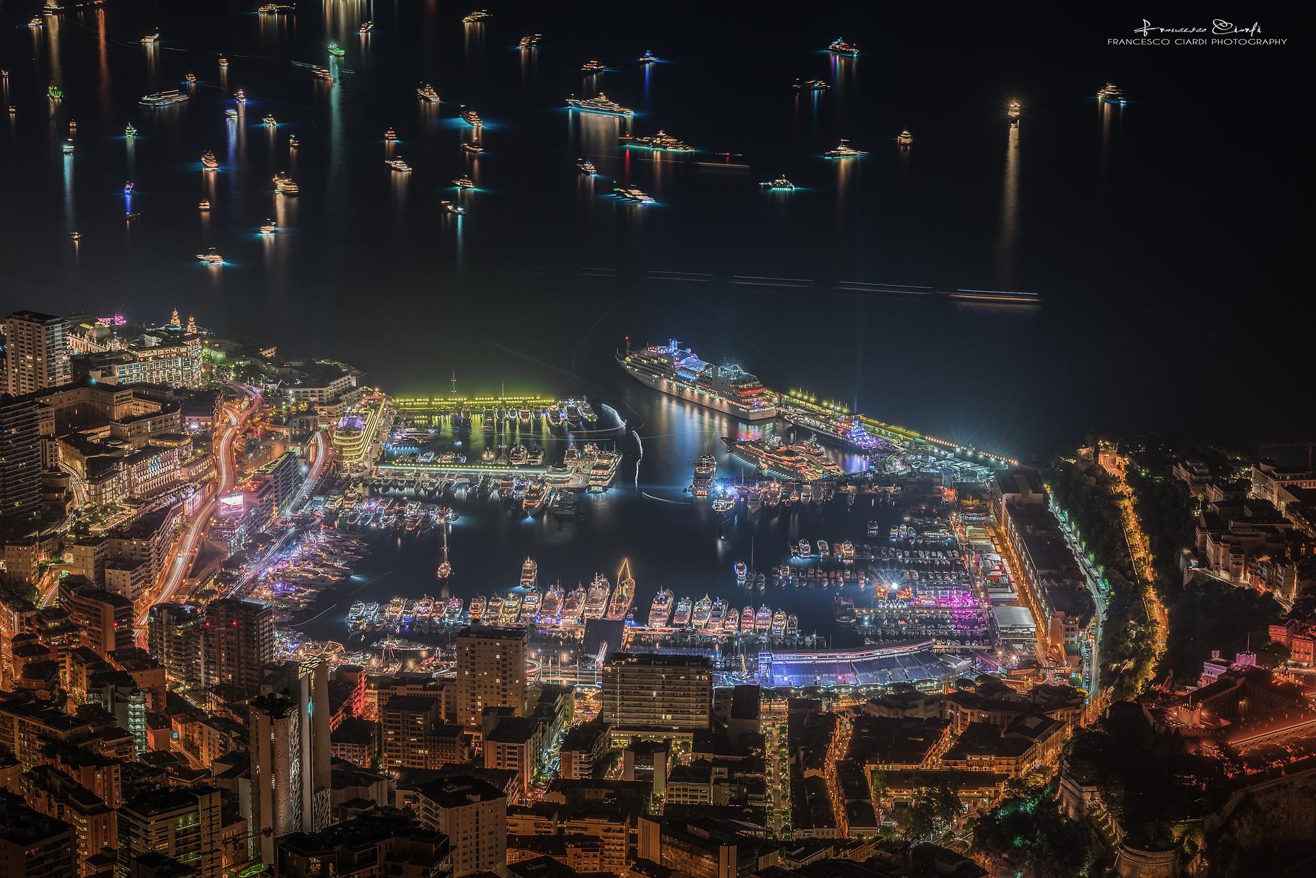 The Port of Monaco...