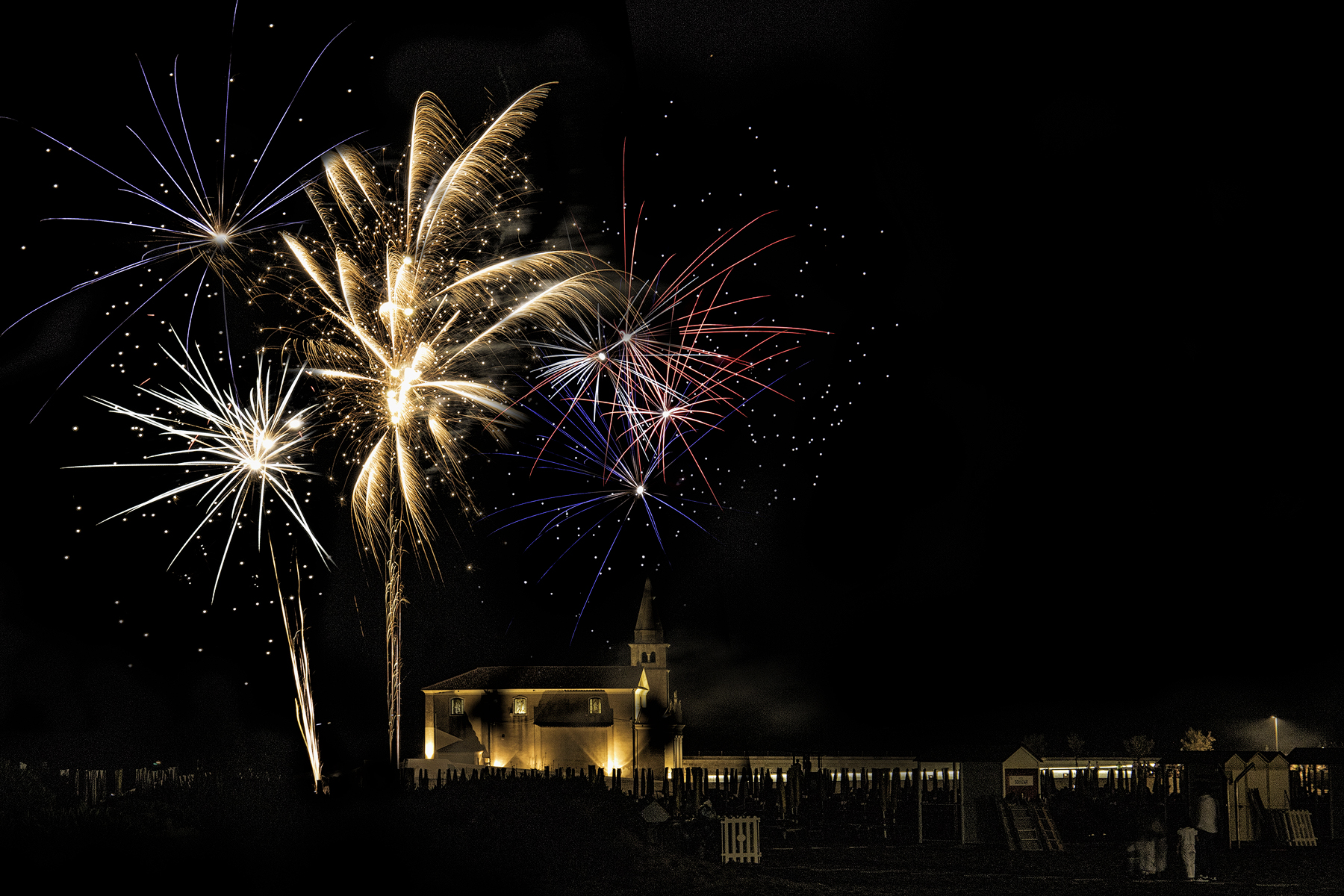 Fireworks in Caorle...
