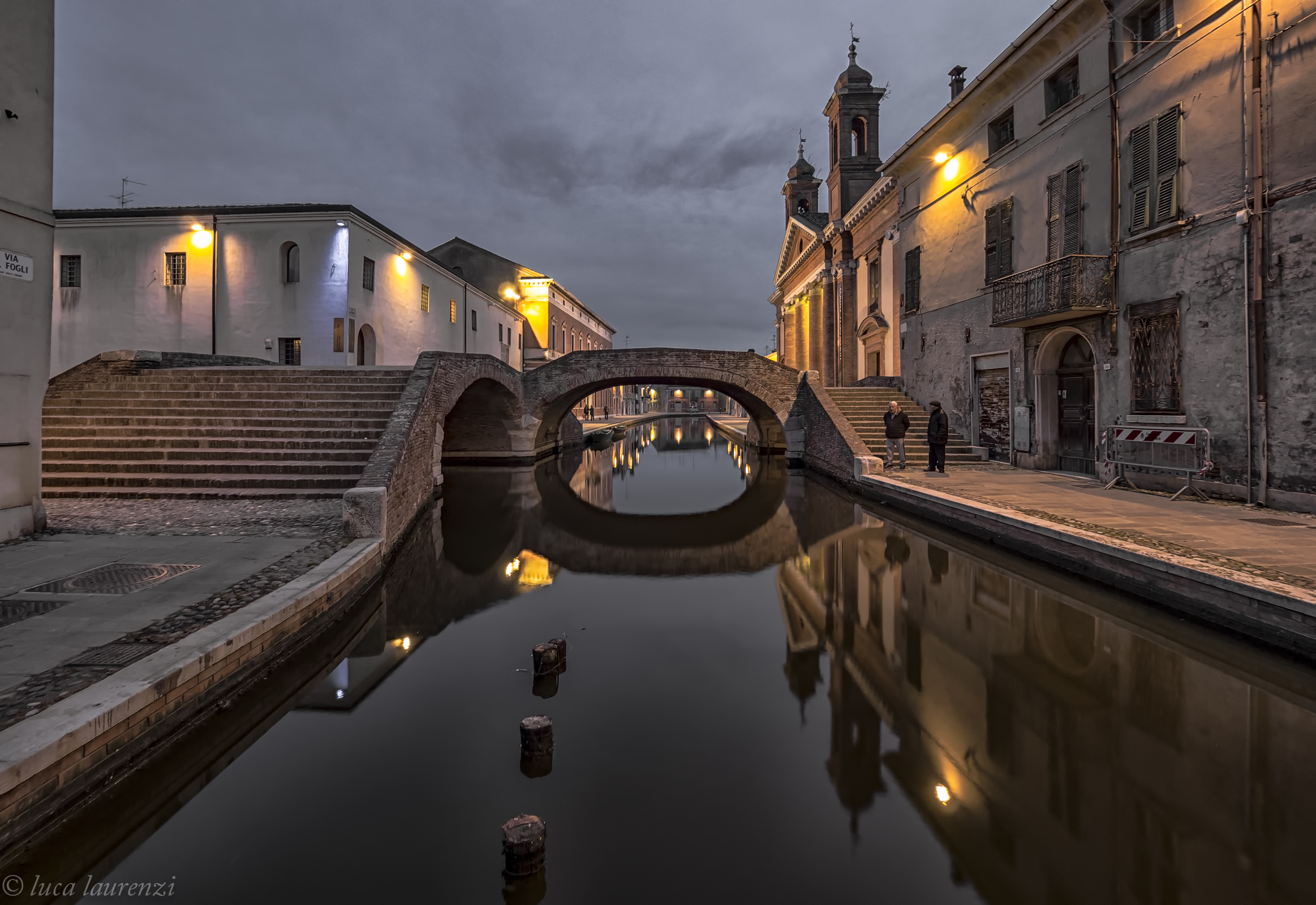 In The company of Eels (Comacchio)...