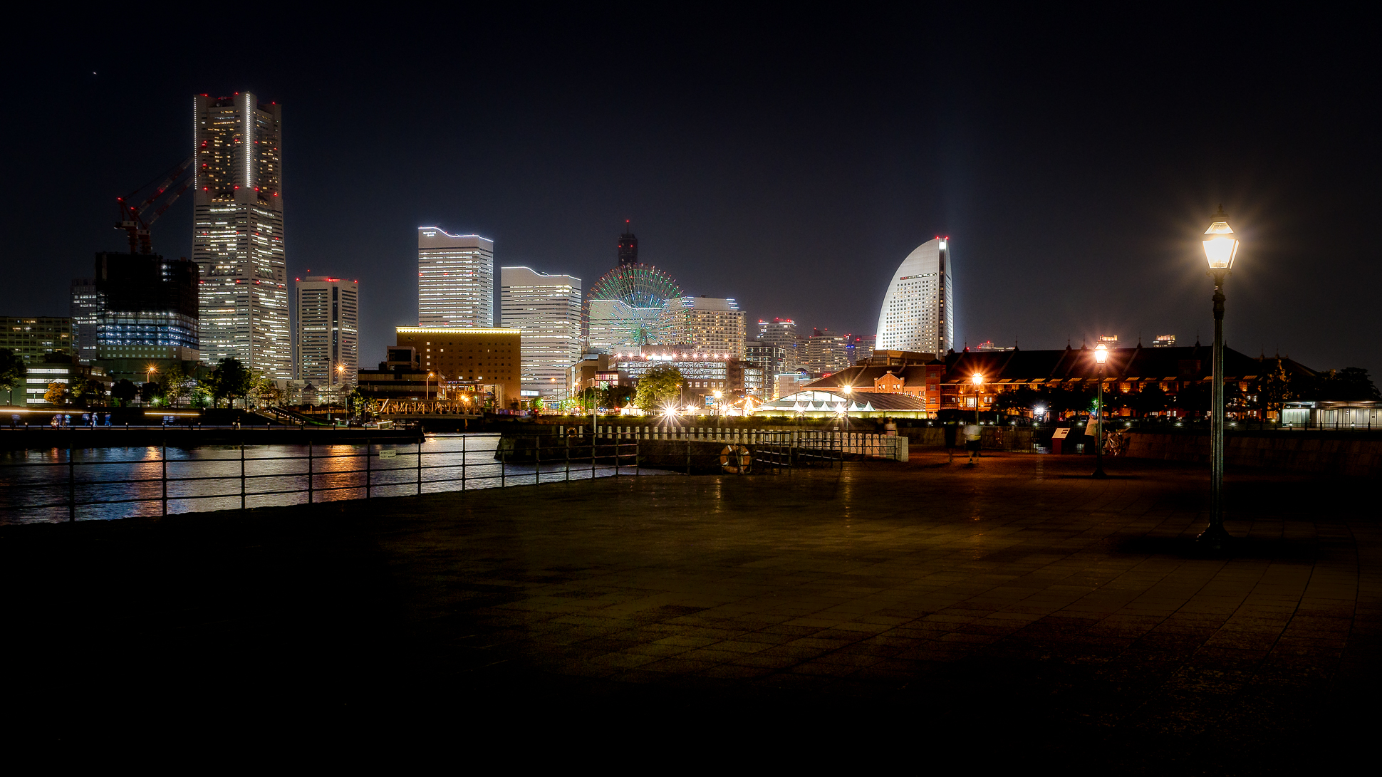 Yokohama Skyline by night...