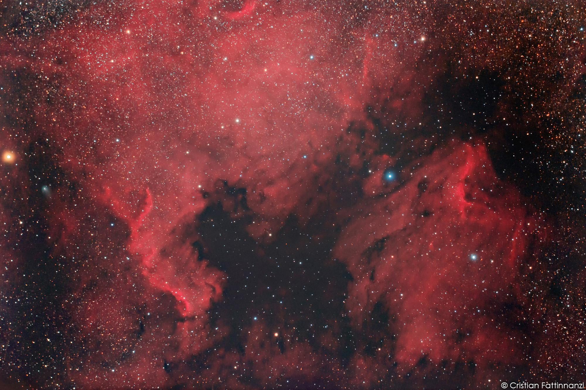Cometa Giacobini Zimmer lungo le coste del Nordamerica...