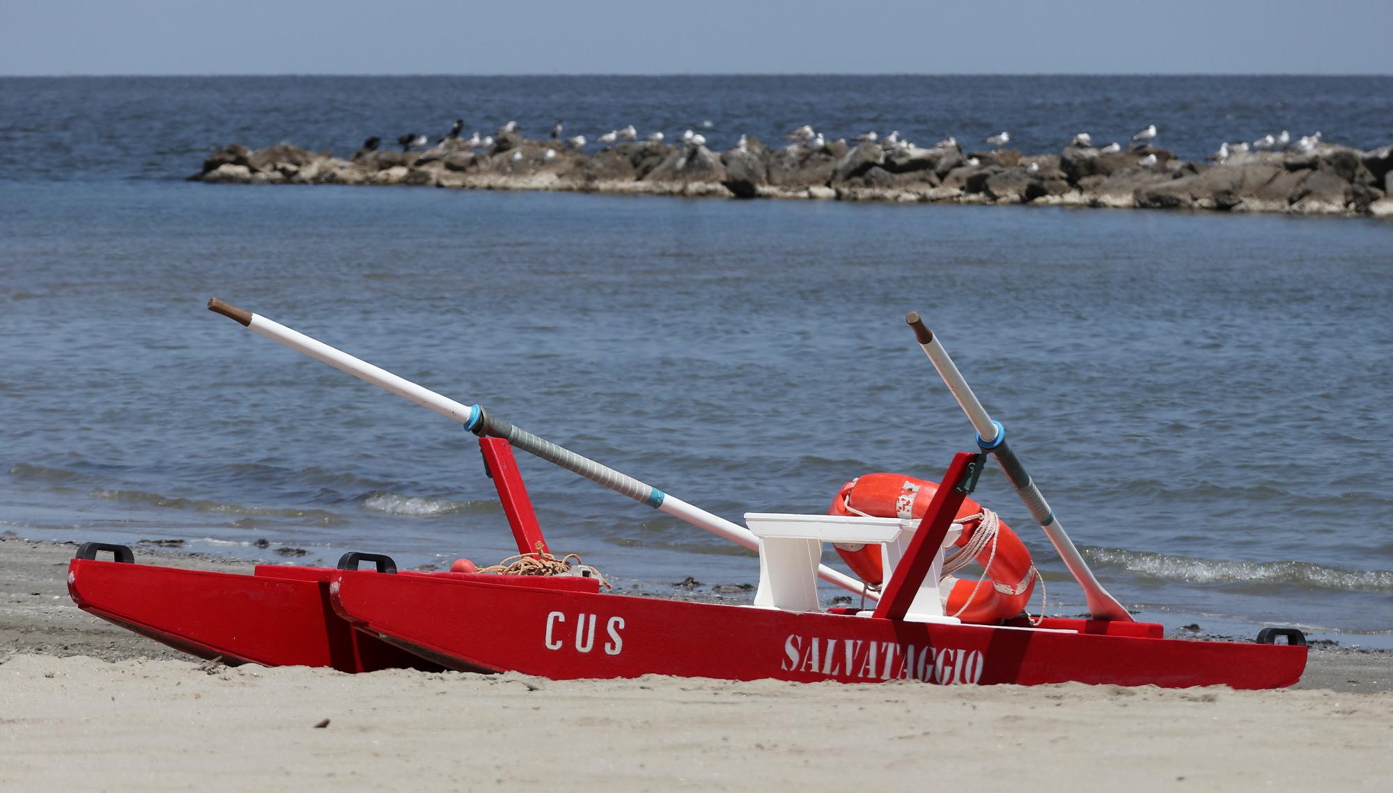 Porto Garibaldi(Fe), spiaggia....
