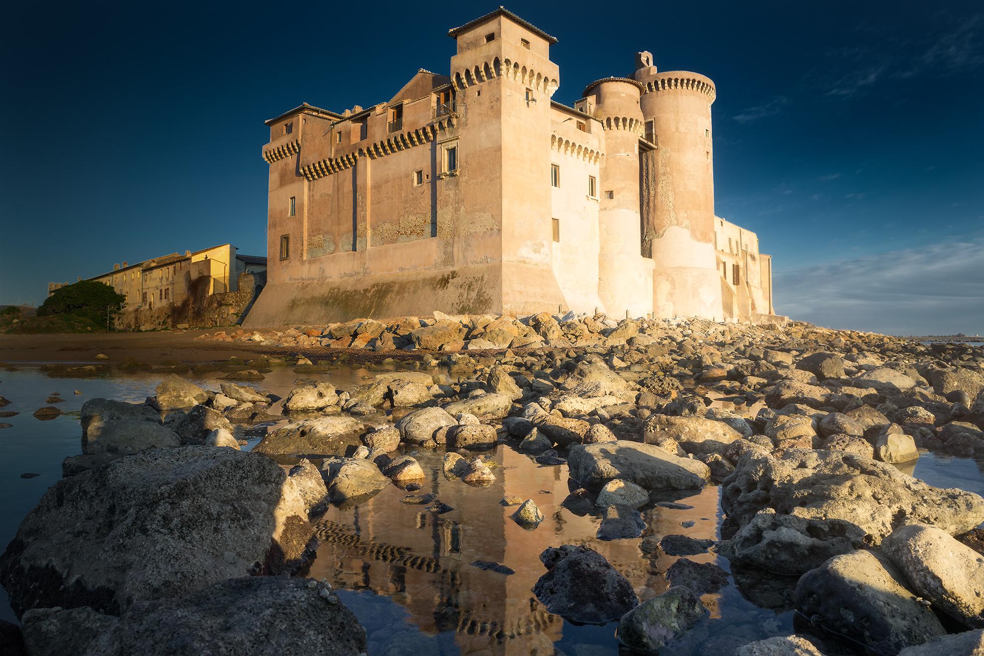 The Castle of Santa Severa...