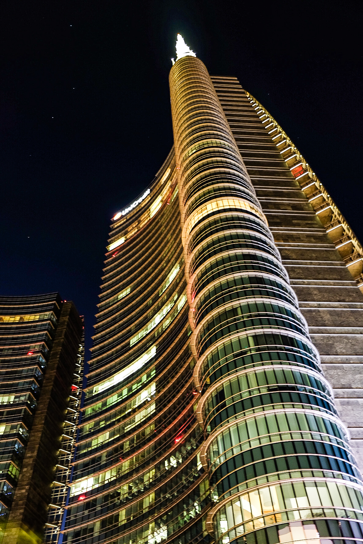 The UniCredit Tower ...