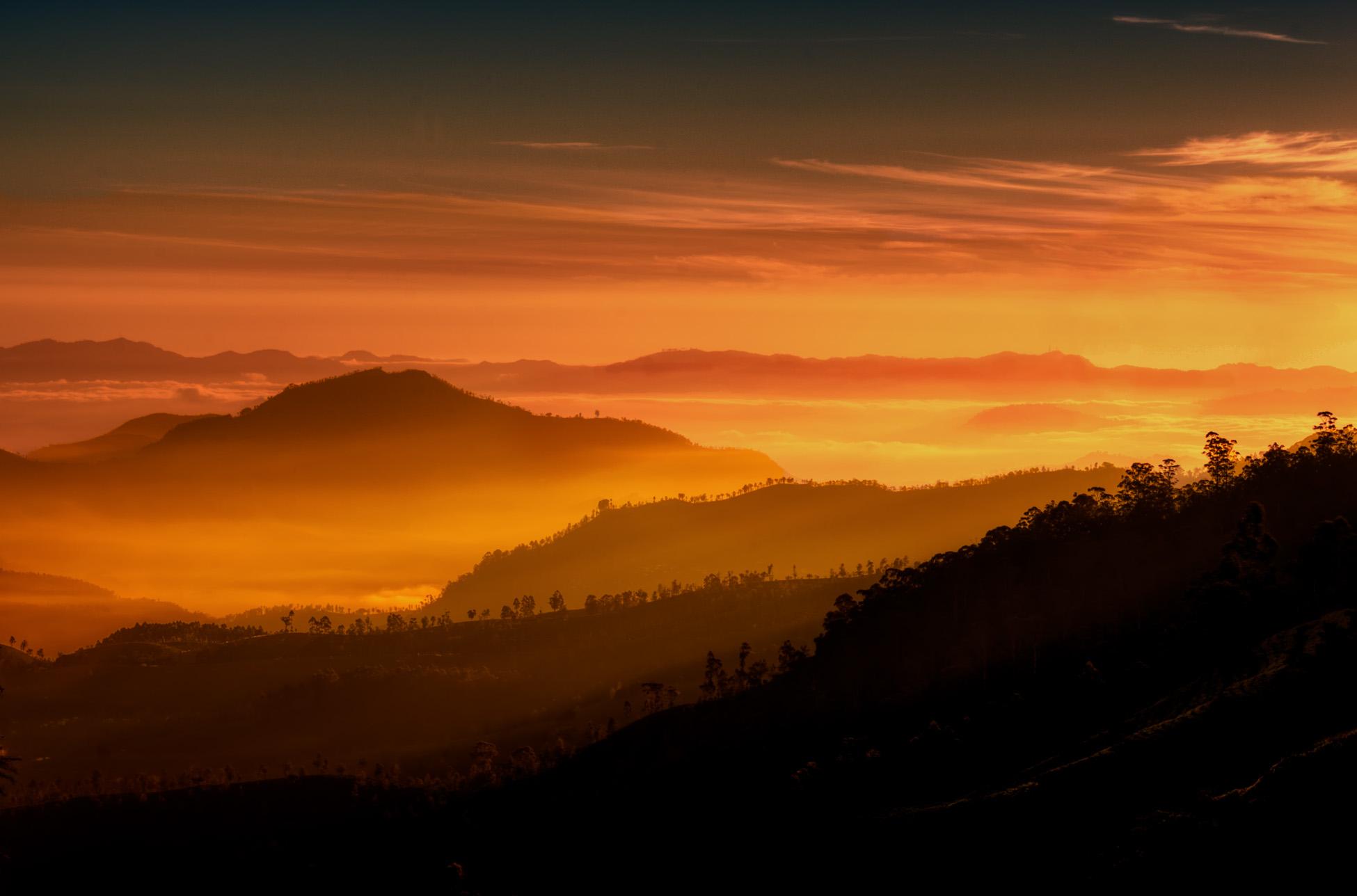 Highlands of Central Sri Lanka...