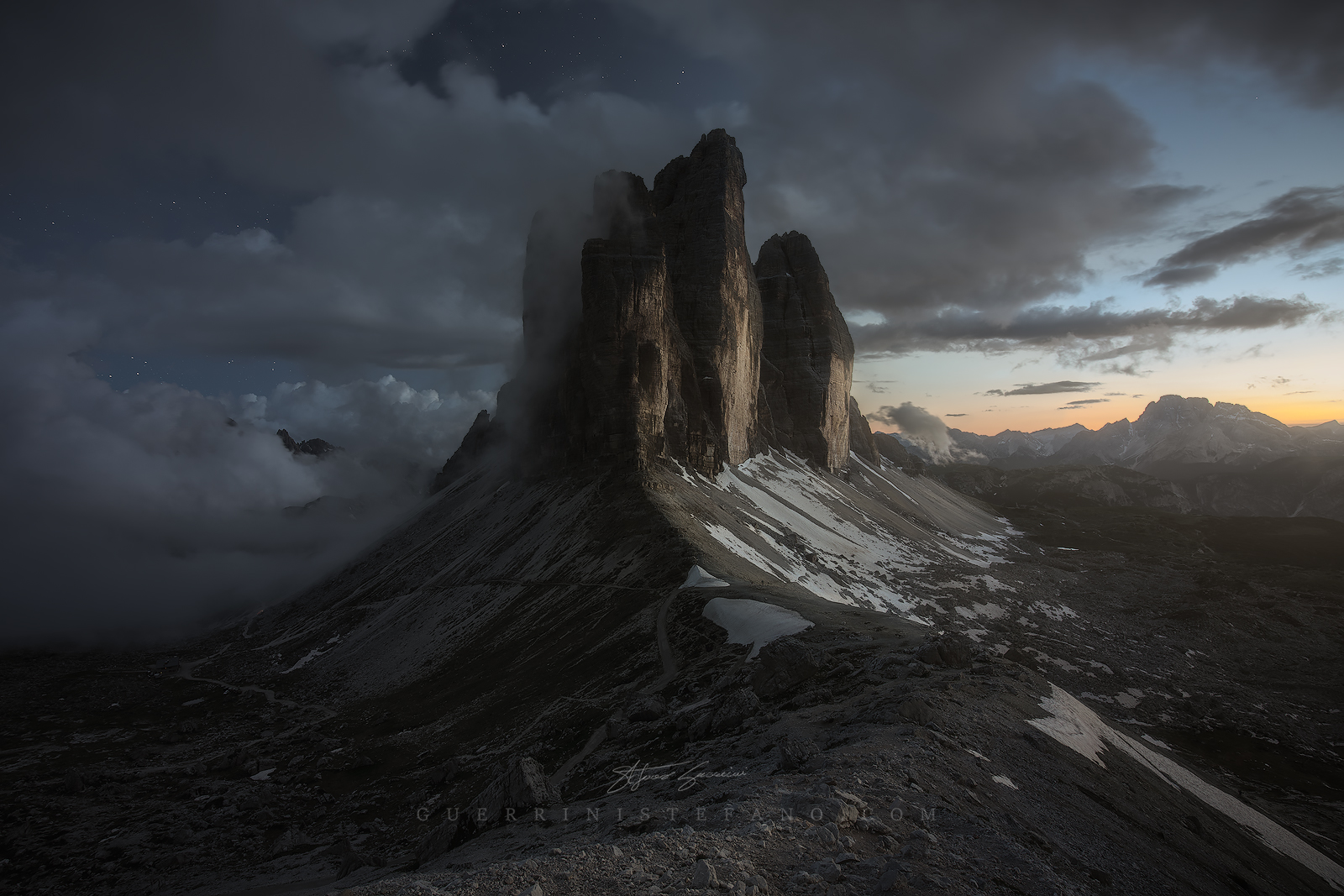 Blue Hour-Three peaks of Lavaredo...
