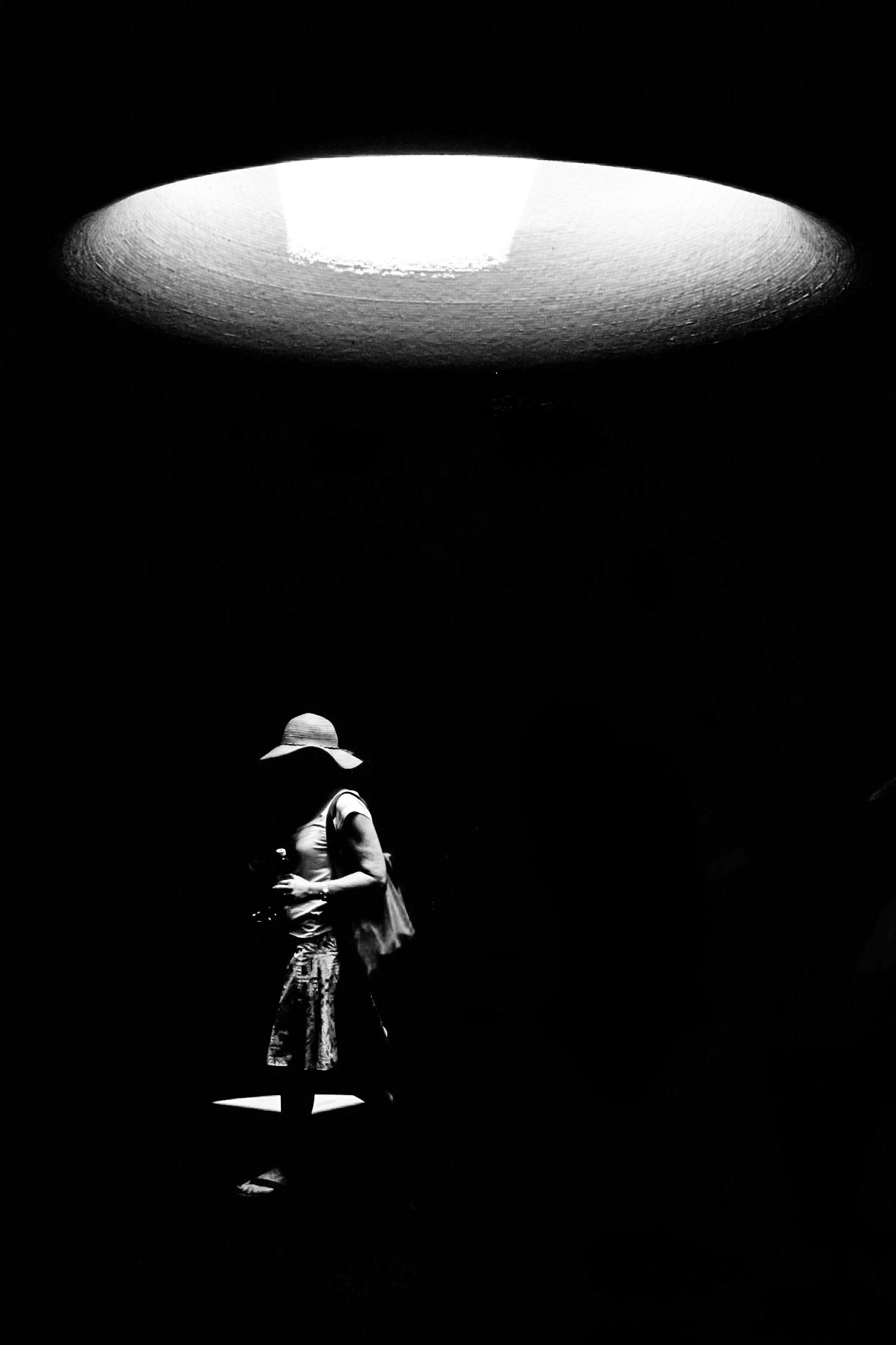 Floating Hat...