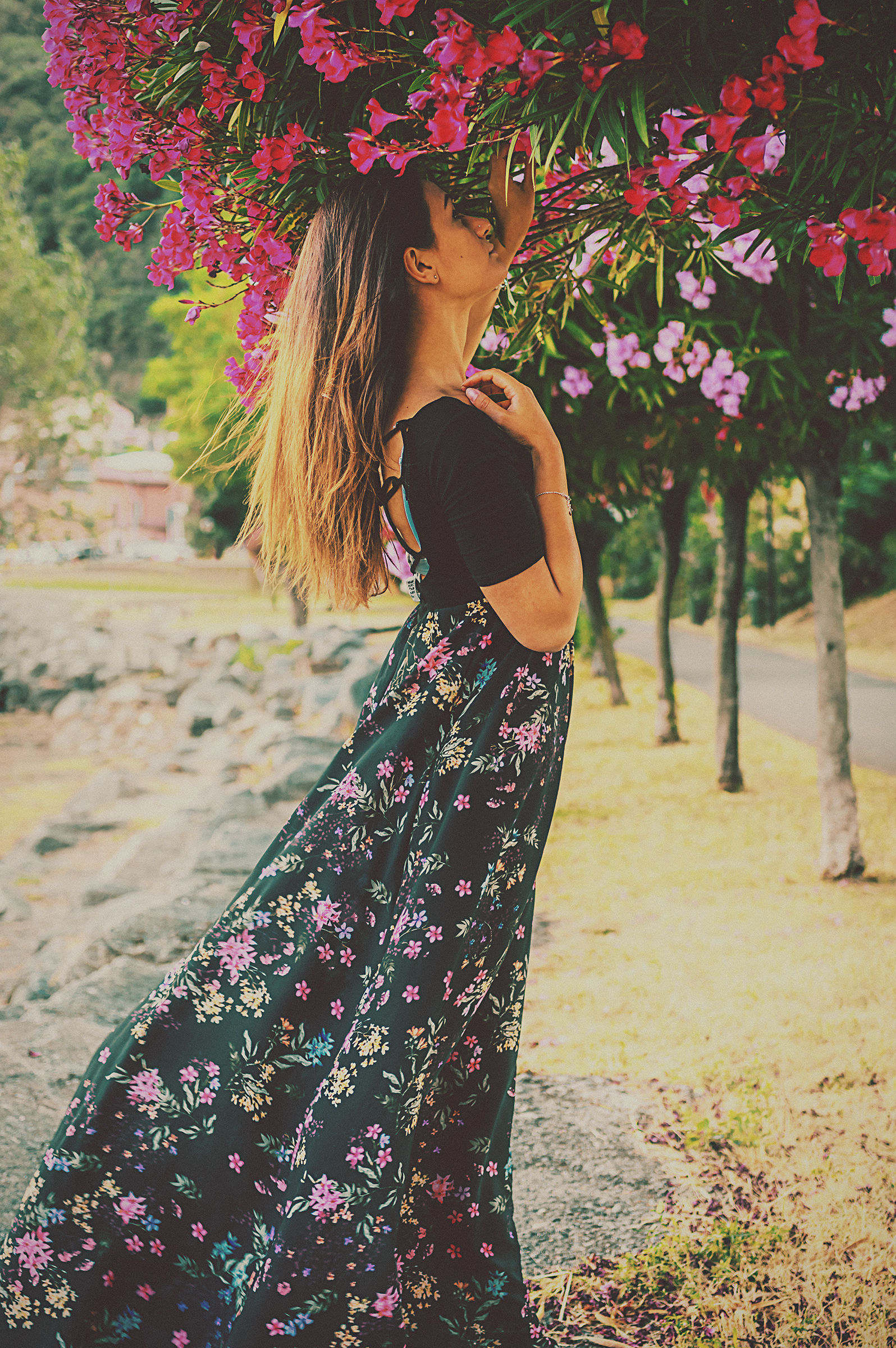 Martina Among the Flowers 3...