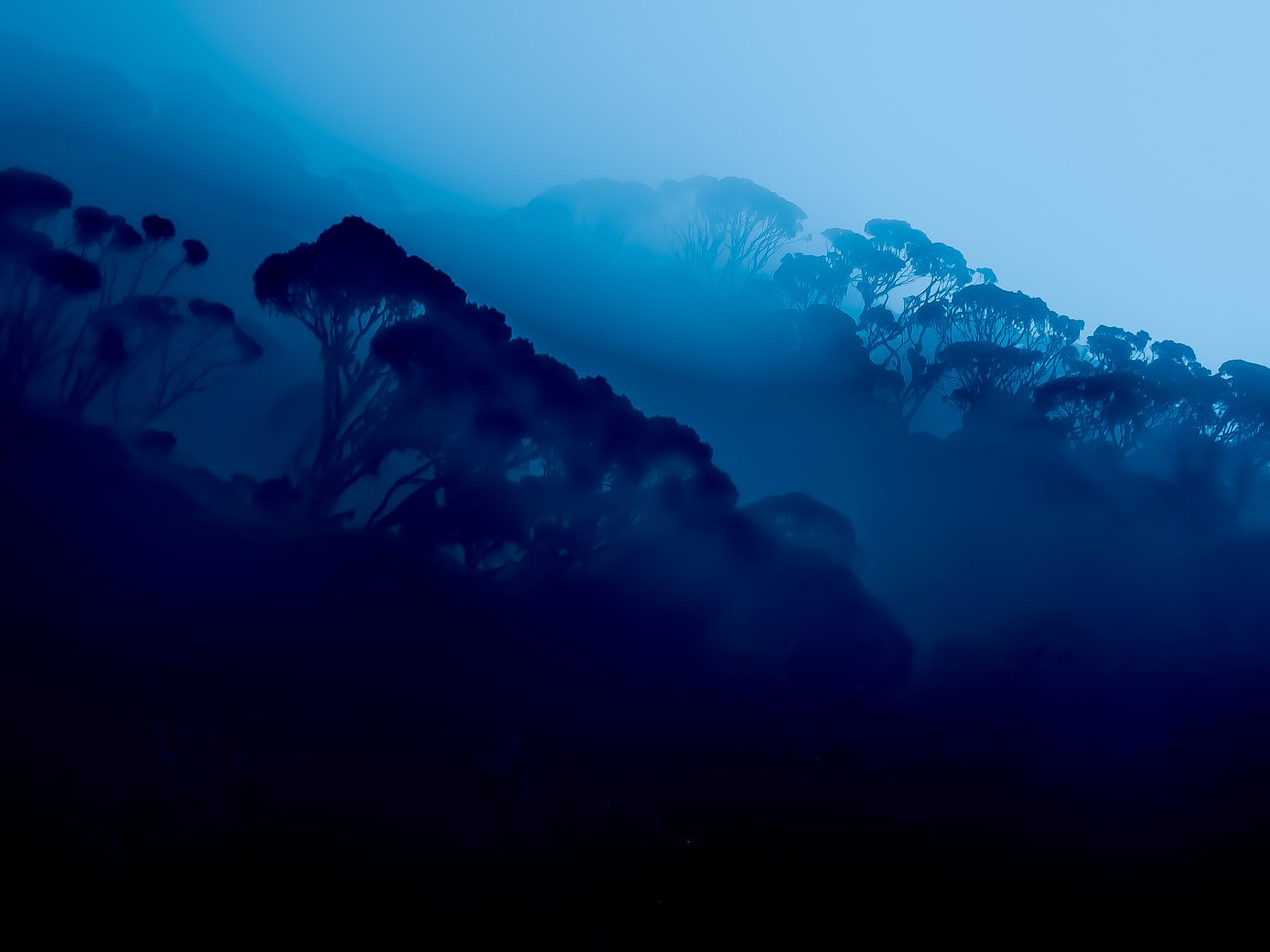 Le montagne della luna...