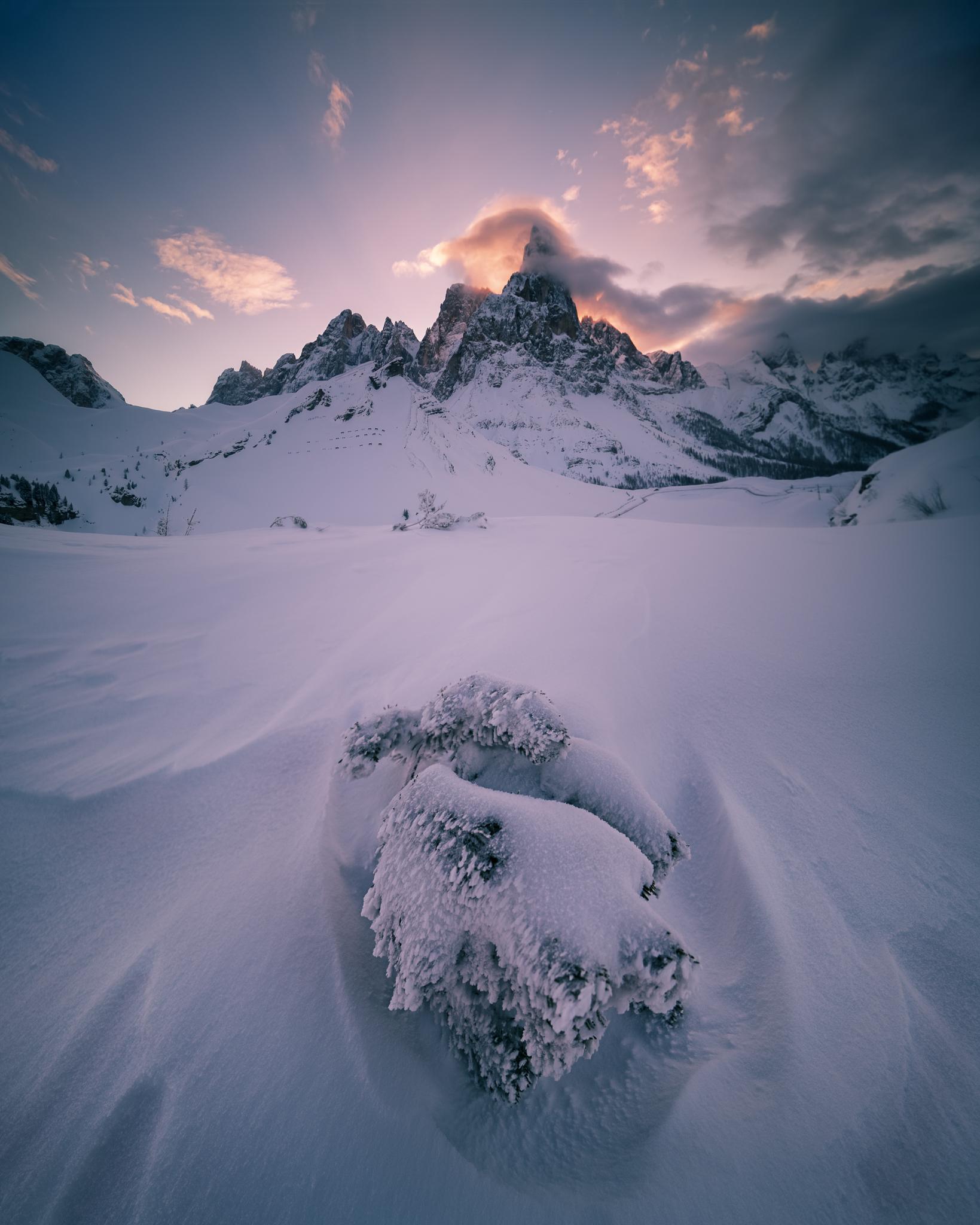 Glowing Peak...