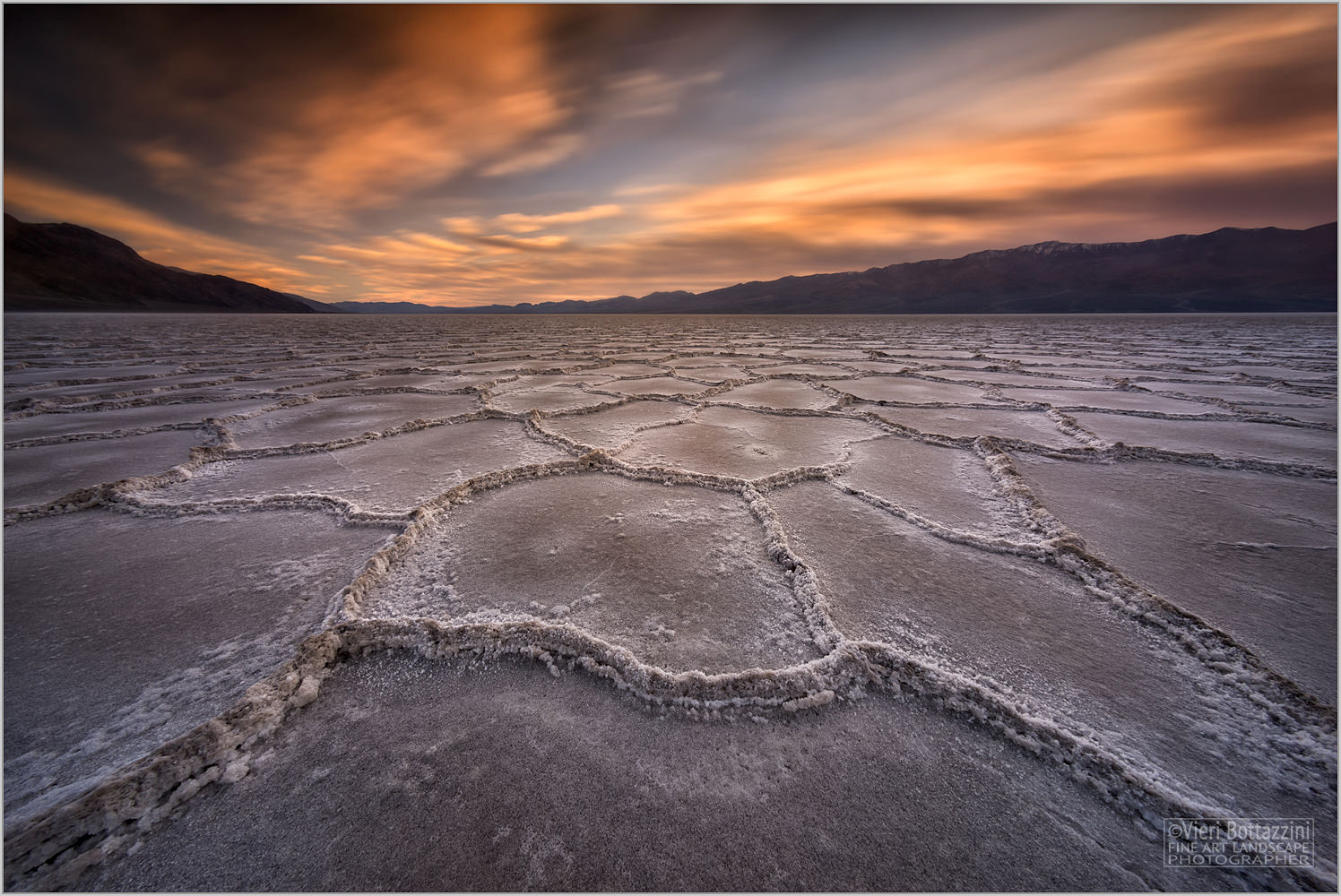 Sunset at Badwater...